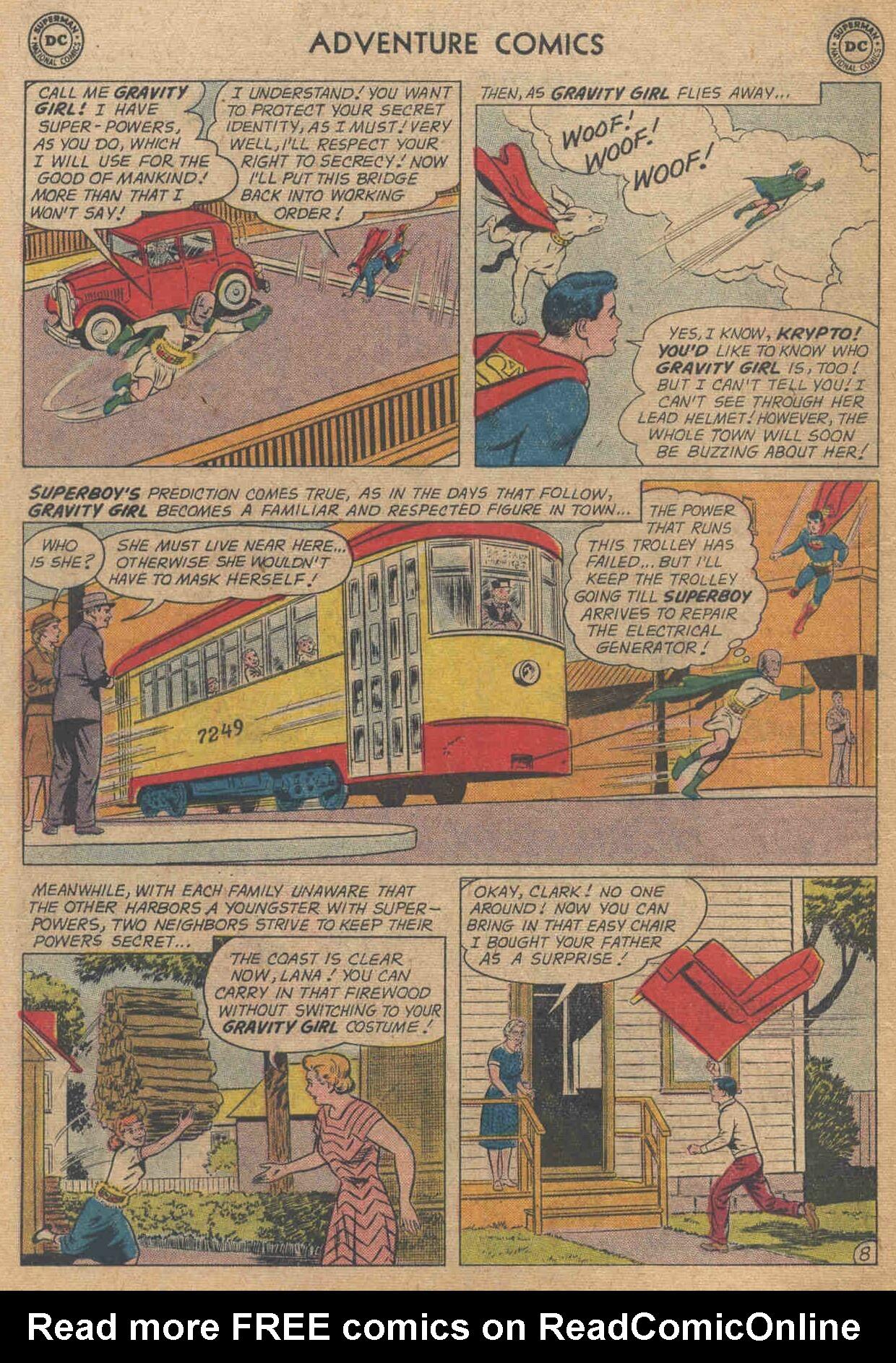 Read online Adventure Comics (1938) comic -  Issue #285 - 10