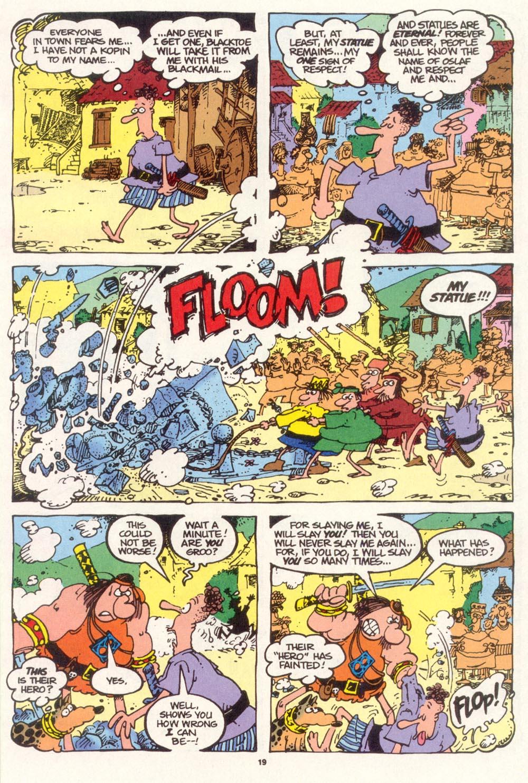 Read online Sergio Aragonés Groo the Wanderer comic -  Issue #111 - 21