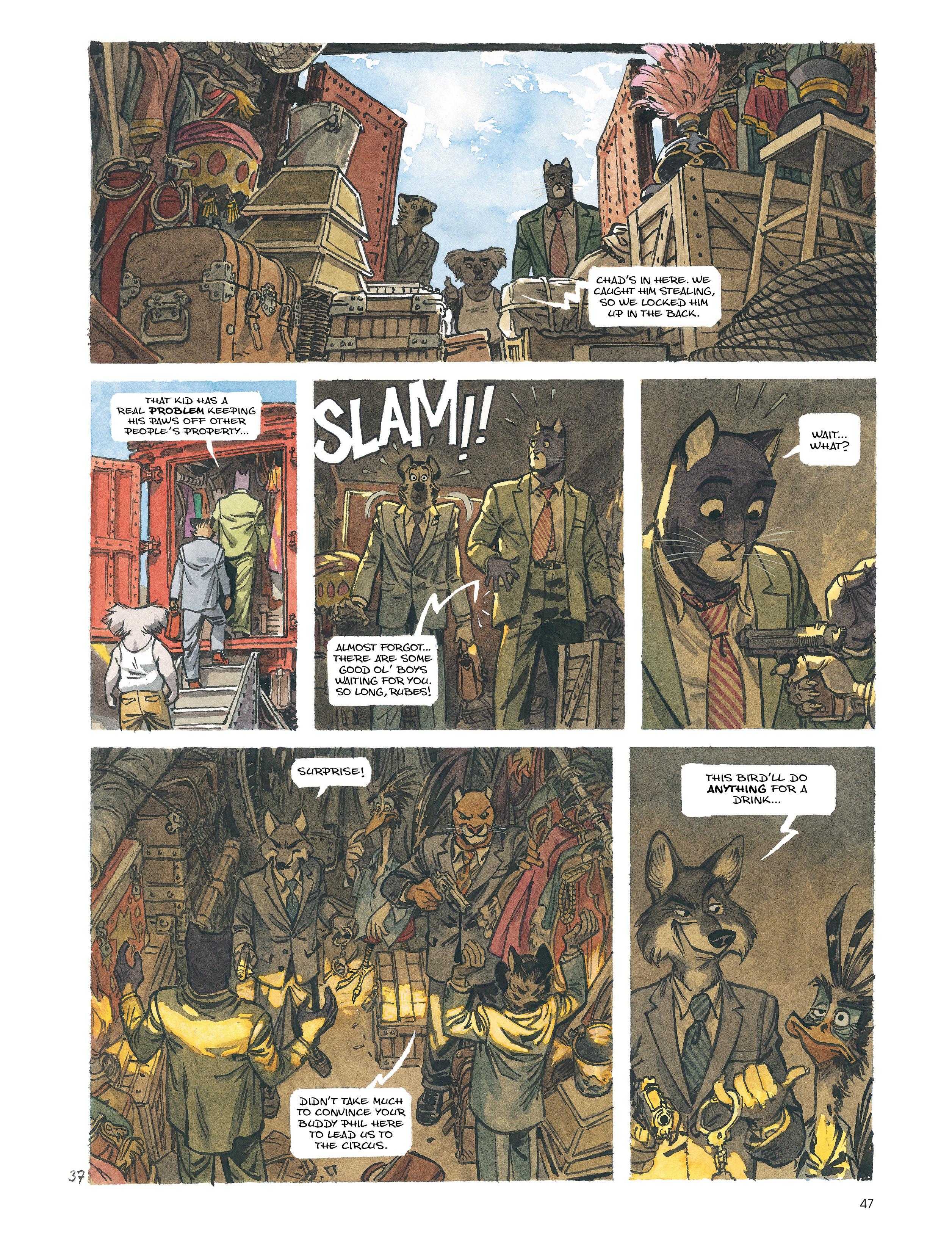 Read online Blacksad: Amarillo comic -  Issue # Full - 46