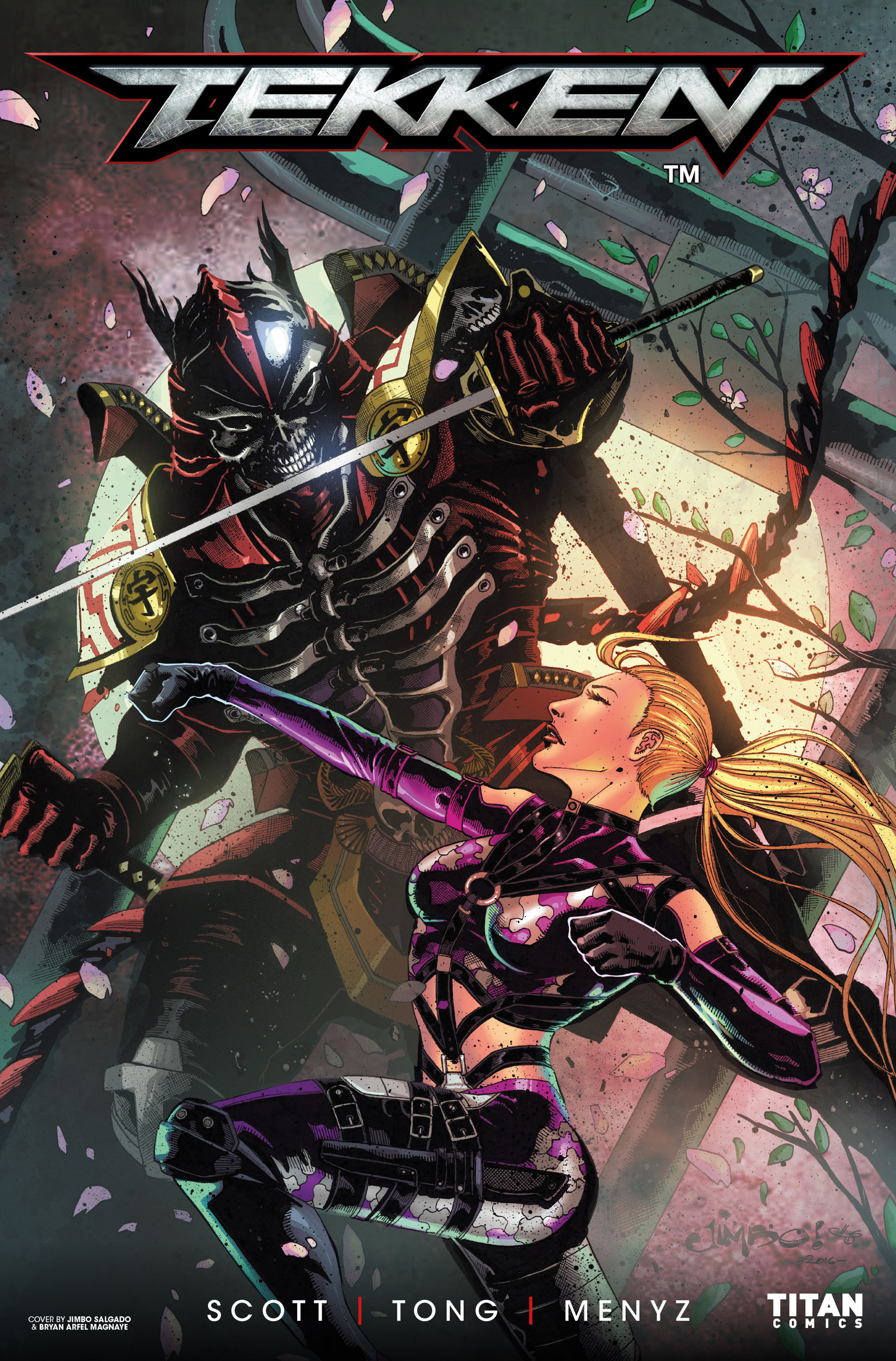 Read online Tekken comic -  Issue #1 - 5