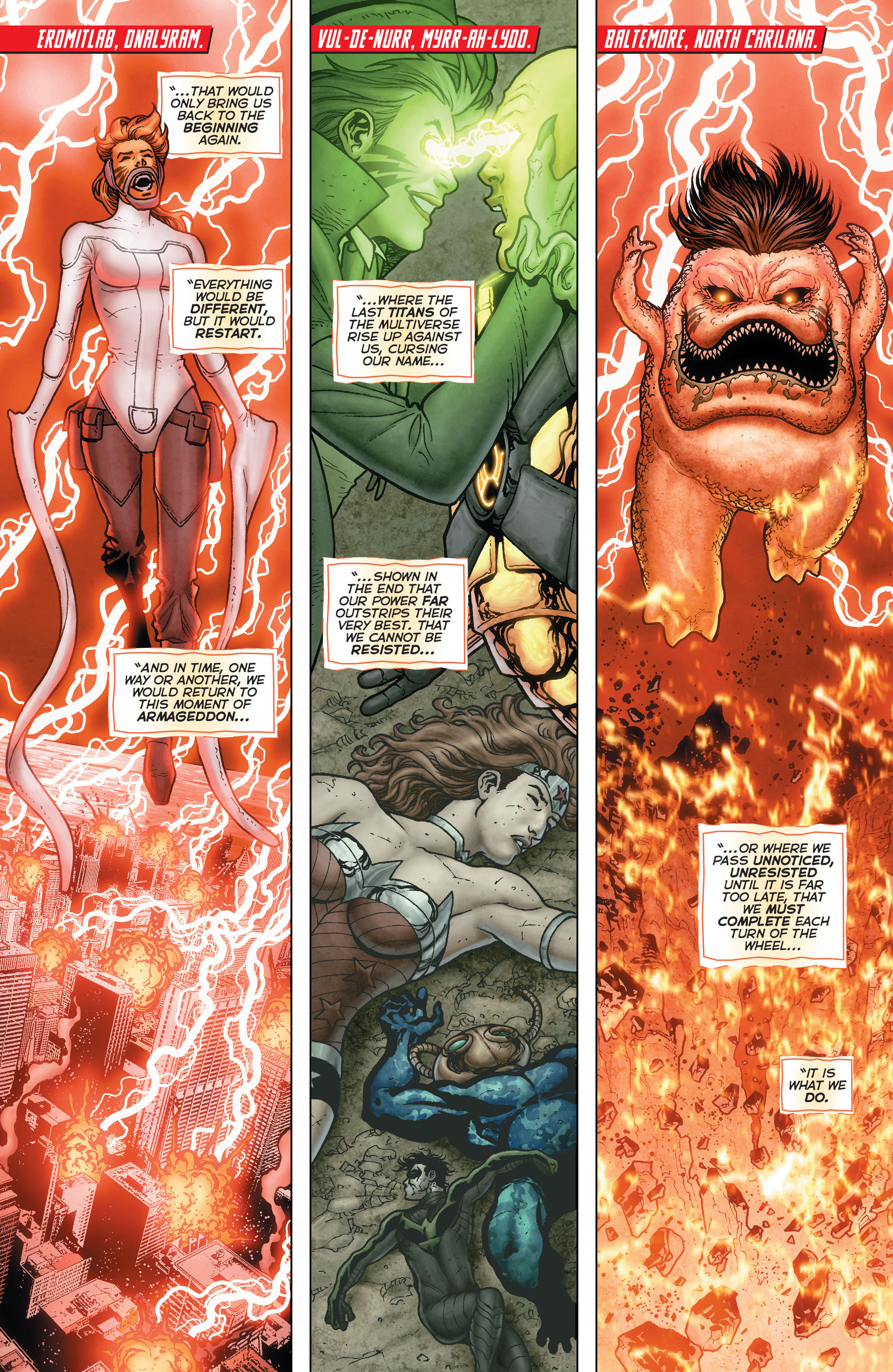 Read online Trinity of Sin: Pandora: Futures End comic -  Issue # Full - 14