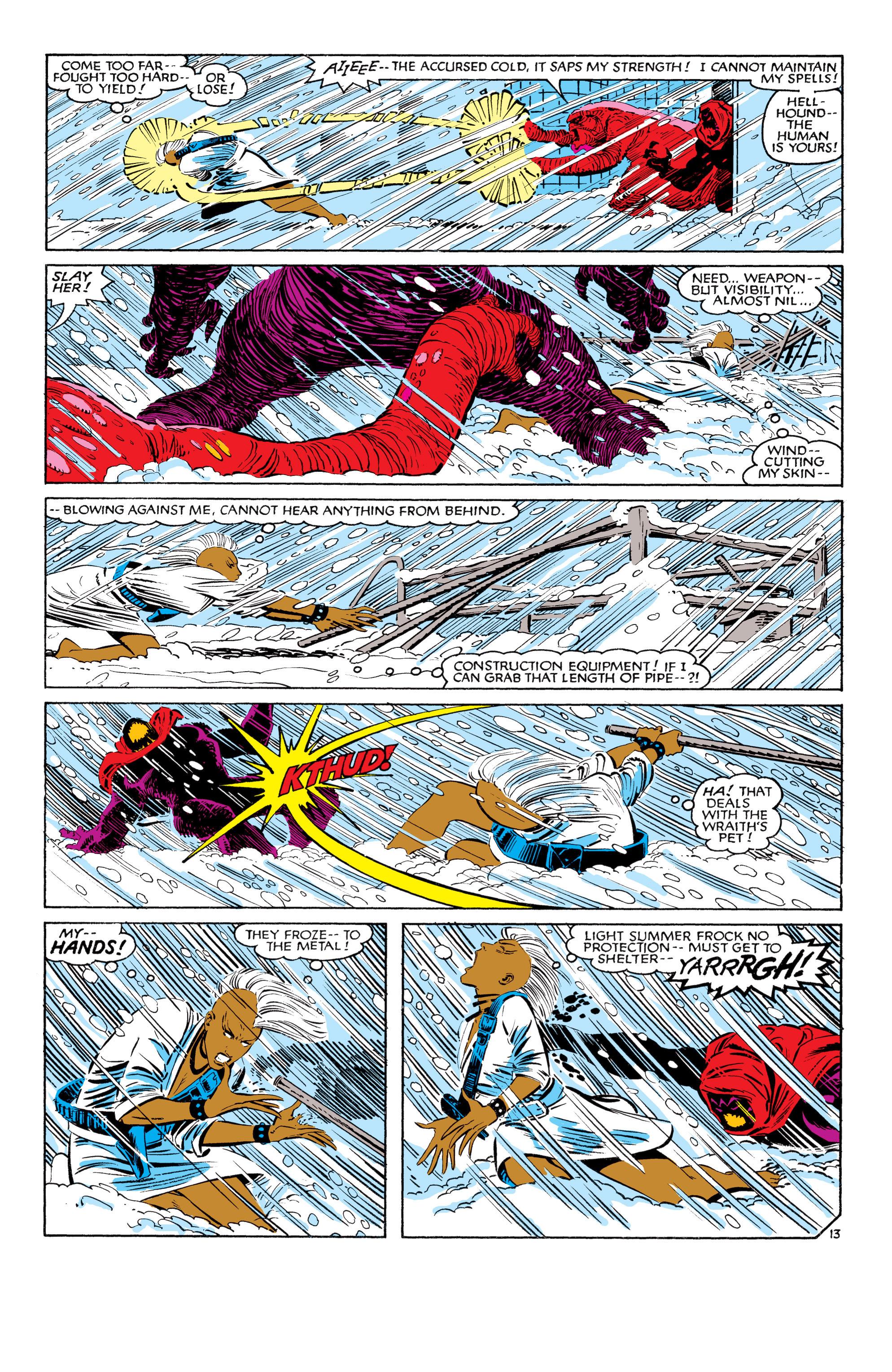 Read online Uncanny X-Men (1963) comic -  Issue #187 - 14