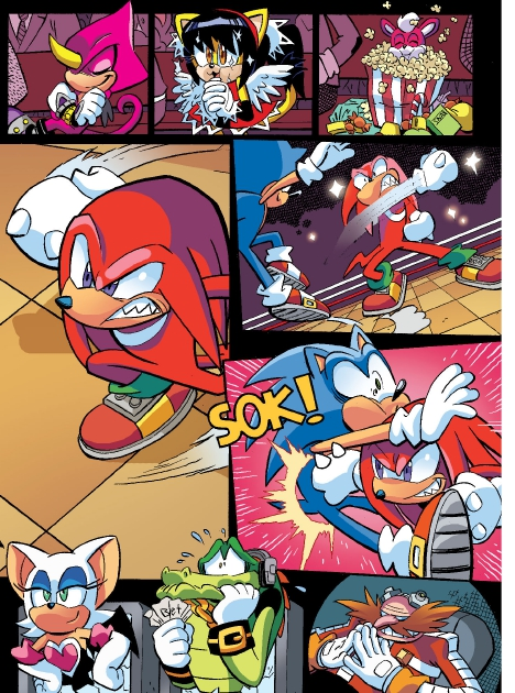 Read online Sonic Comics Spectacular: Speed of Sound comic -  Issue # Full - 65