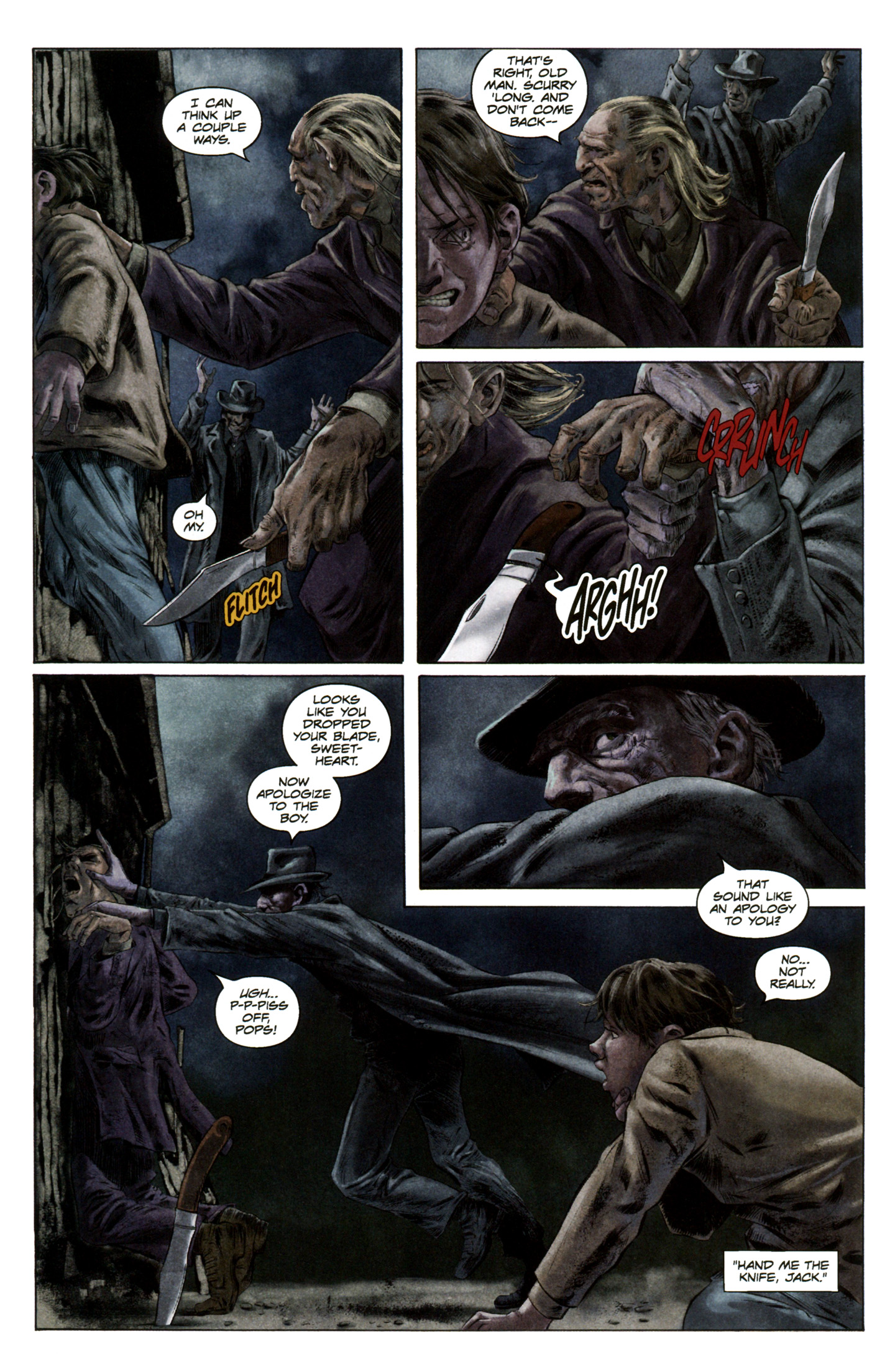 Read online Severed comic -  Issue #5 - 18