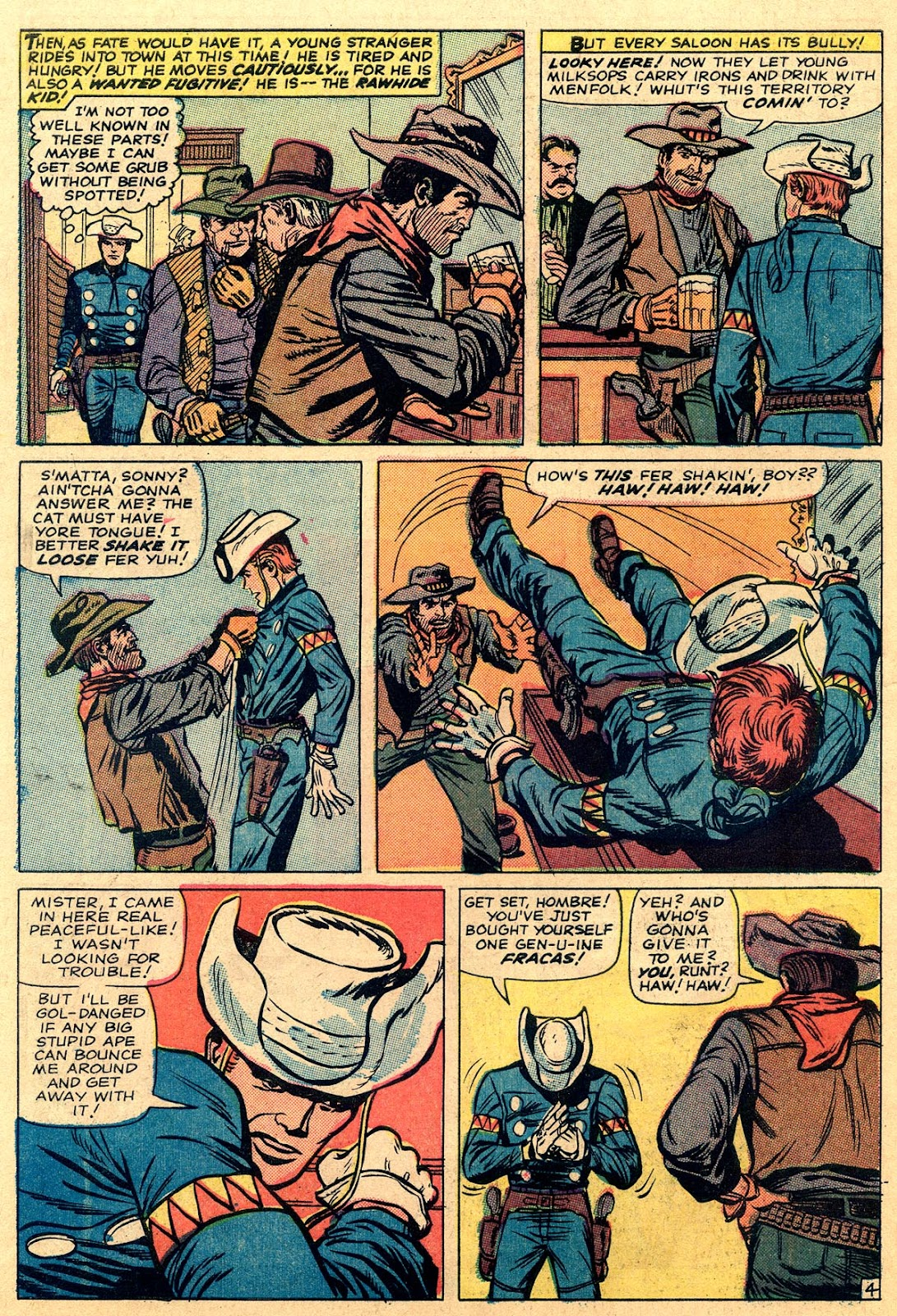 The Rawhide Kid (1955) issue 49 - Page 6