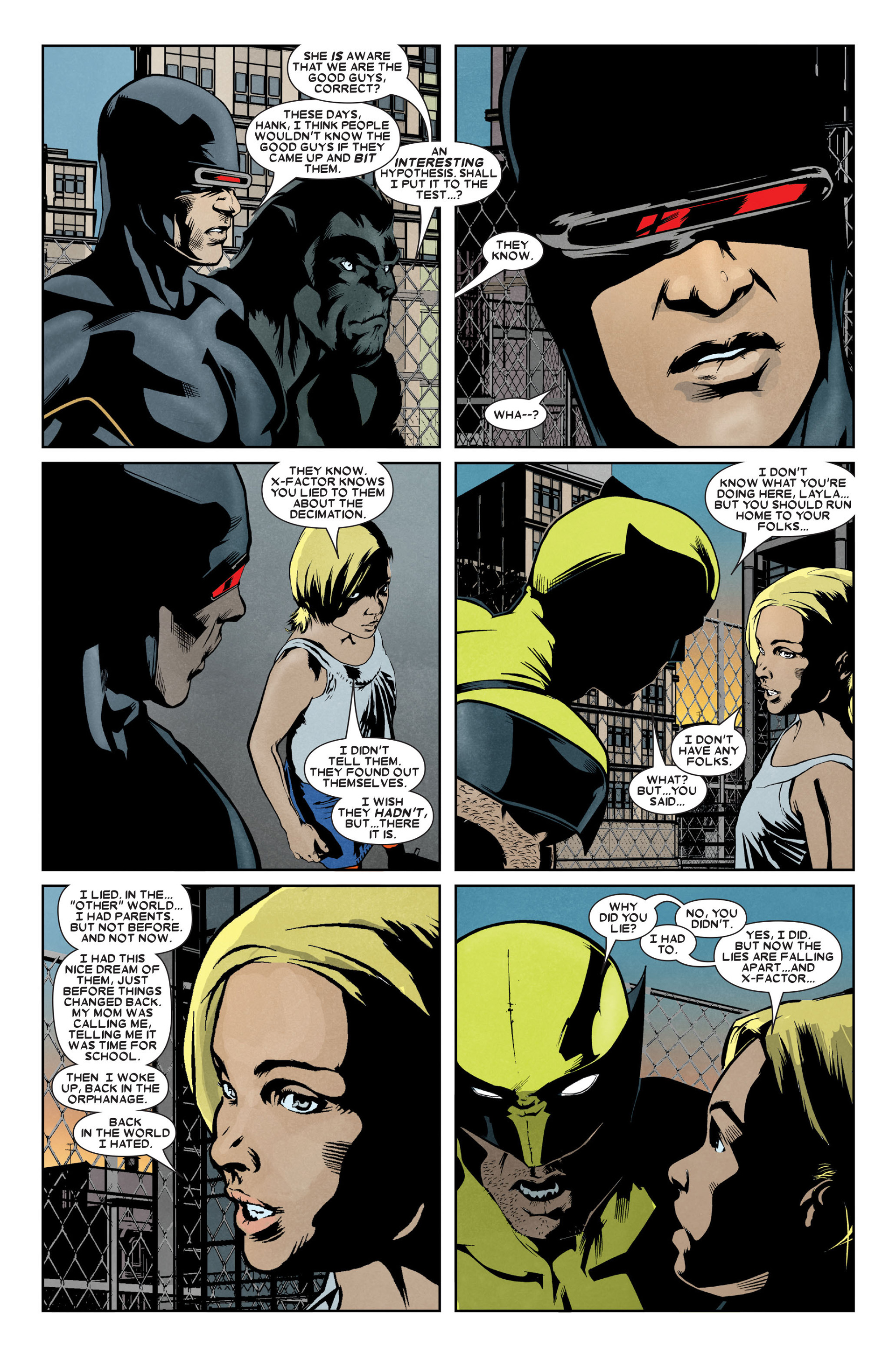 Read online X-Factor (2006) comic -  Issue #9 - 18