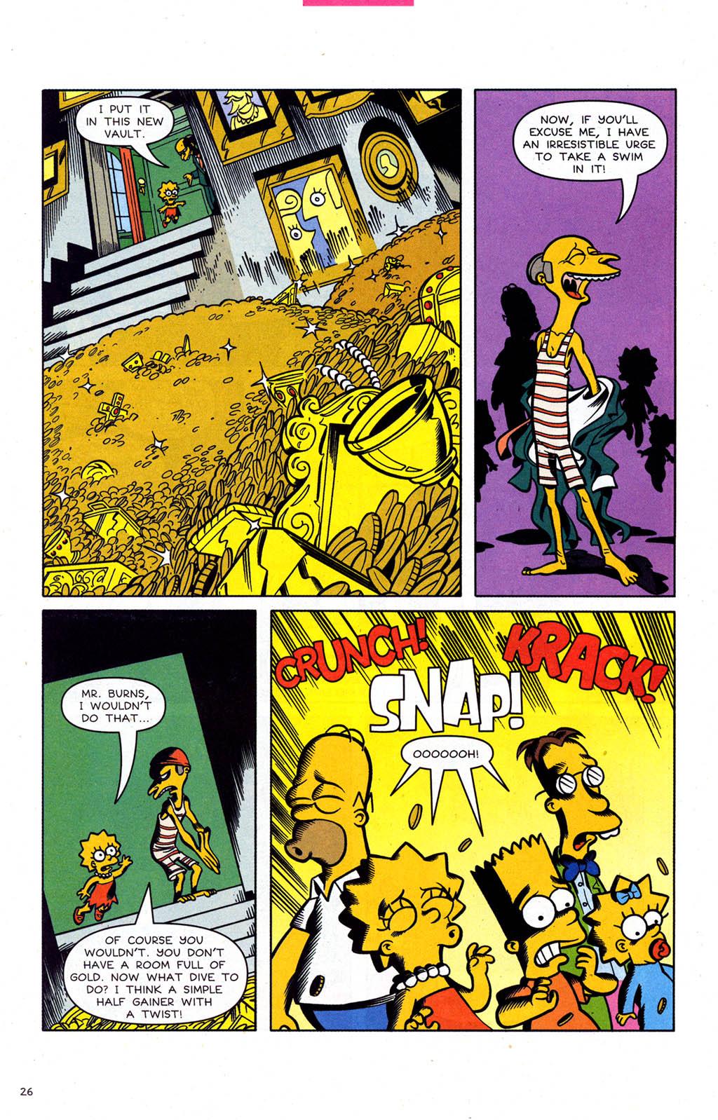 Read online Simpsons Comics comic -  Issue #102 - 27