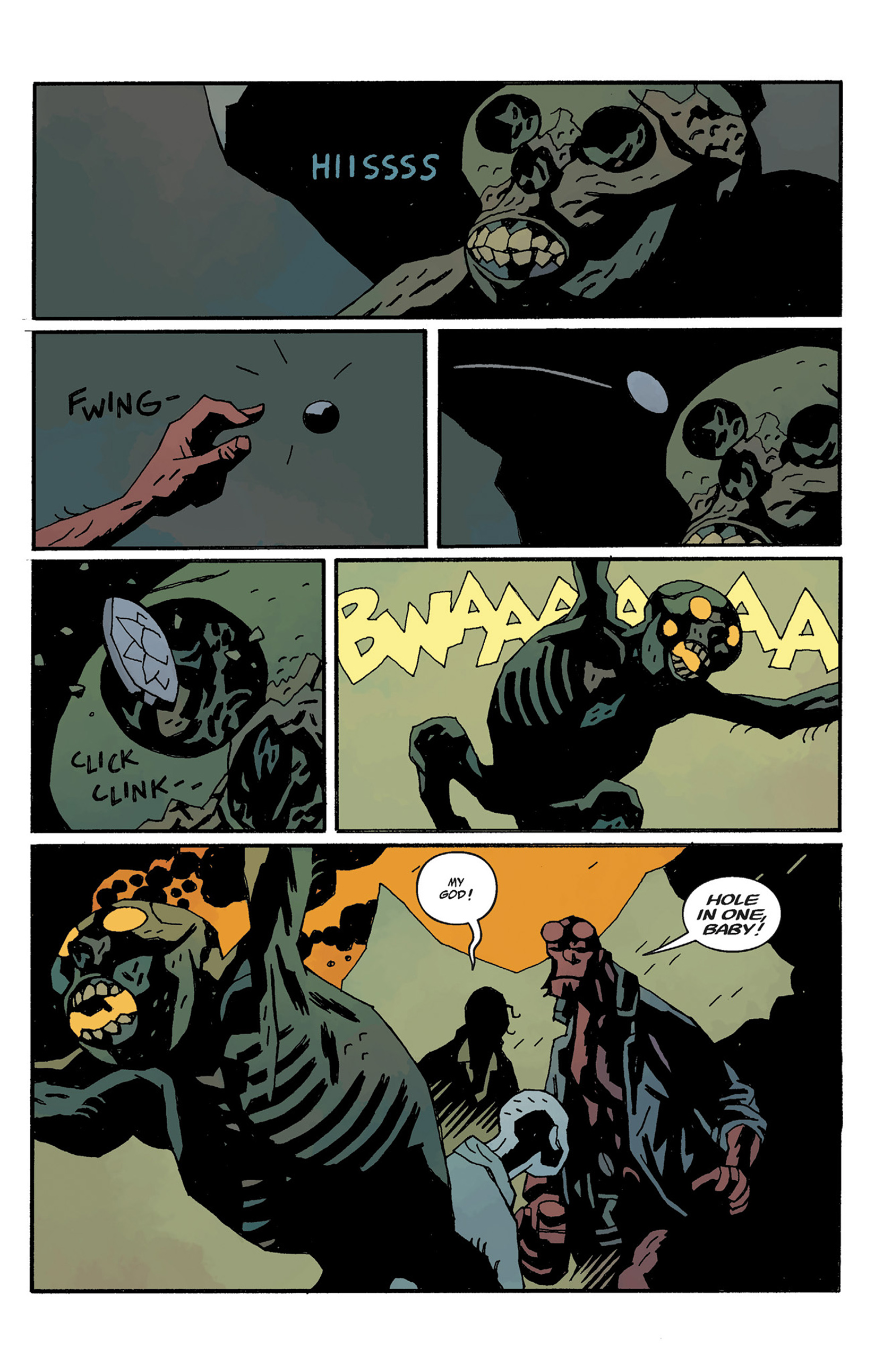 Read online Hellboy: The Crooked Man and Others comic -  Issue # TPB - 125
