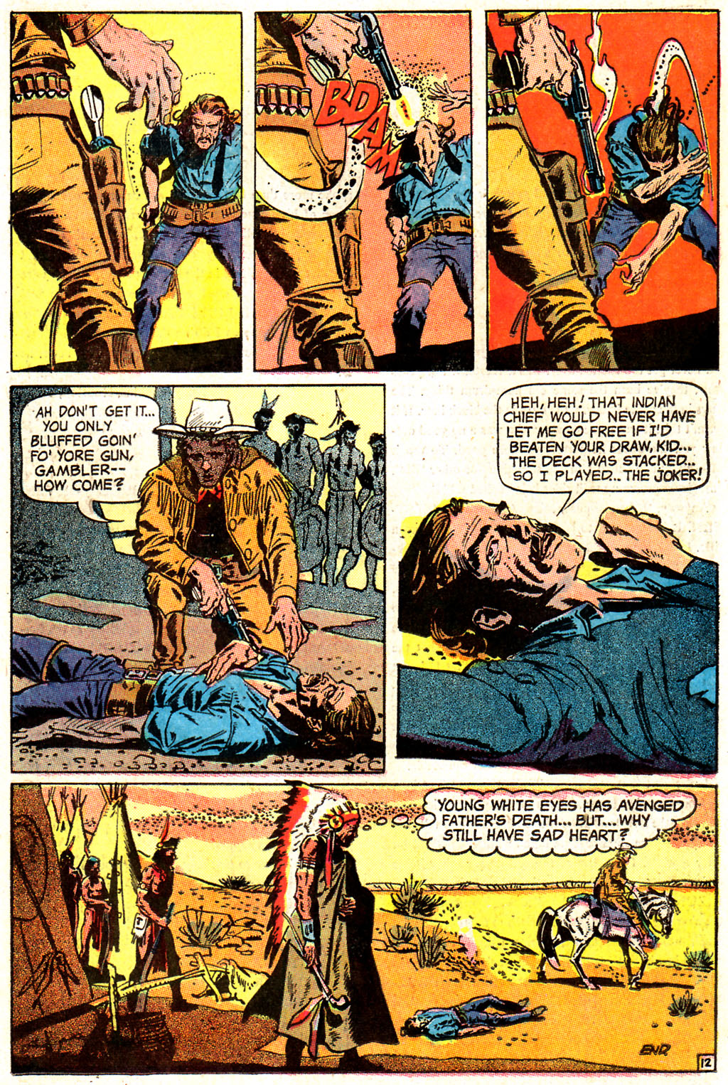 Read online All-Star Western (1970) comic -  Issue #7 - 15
