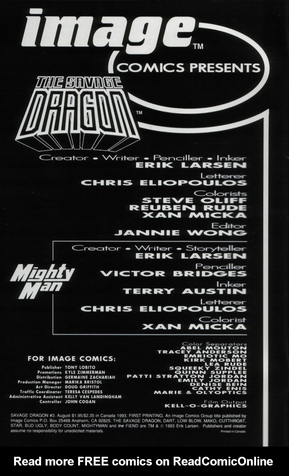 The Savage Dragon (1993) Issue #3 #5 - English 2