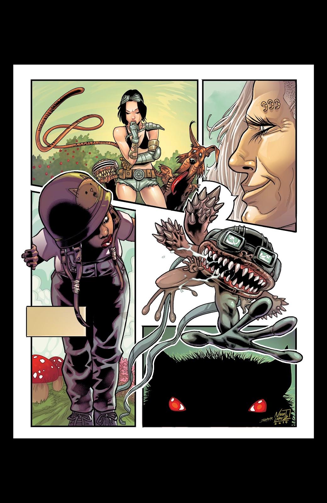 Read online Alan Moore's Cinema Purgatorio comic -  Issue #18 - 2