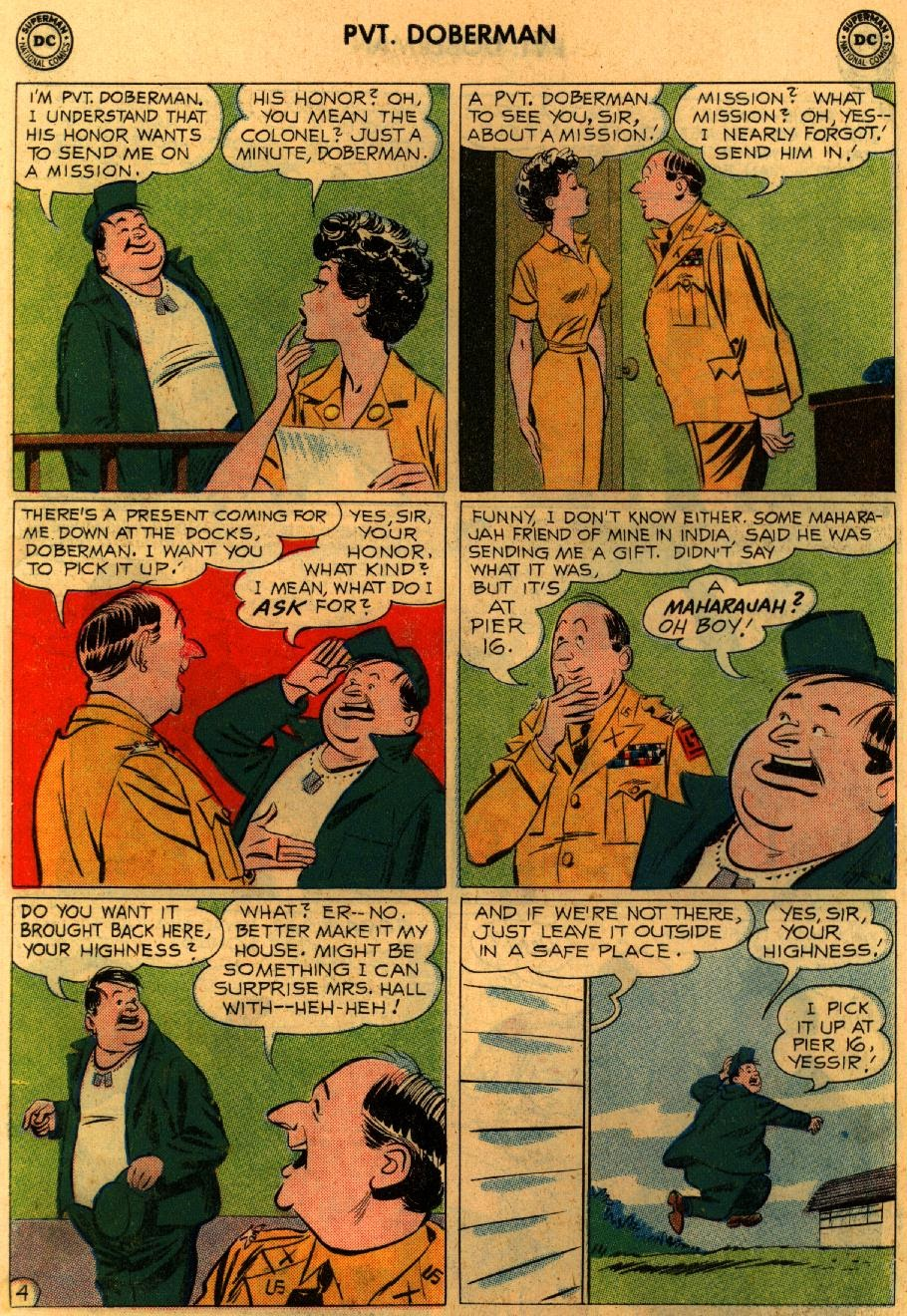 Sgt. Bilko's Pvt. Doberman issue 9 - Page 6