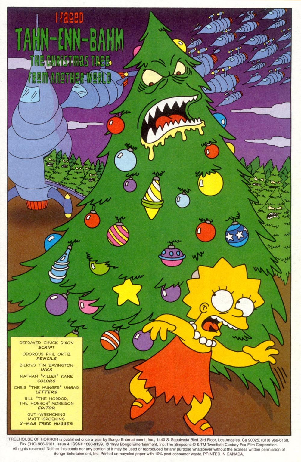 Read online Treehouse of Horror comic -  Issue #4 - 2