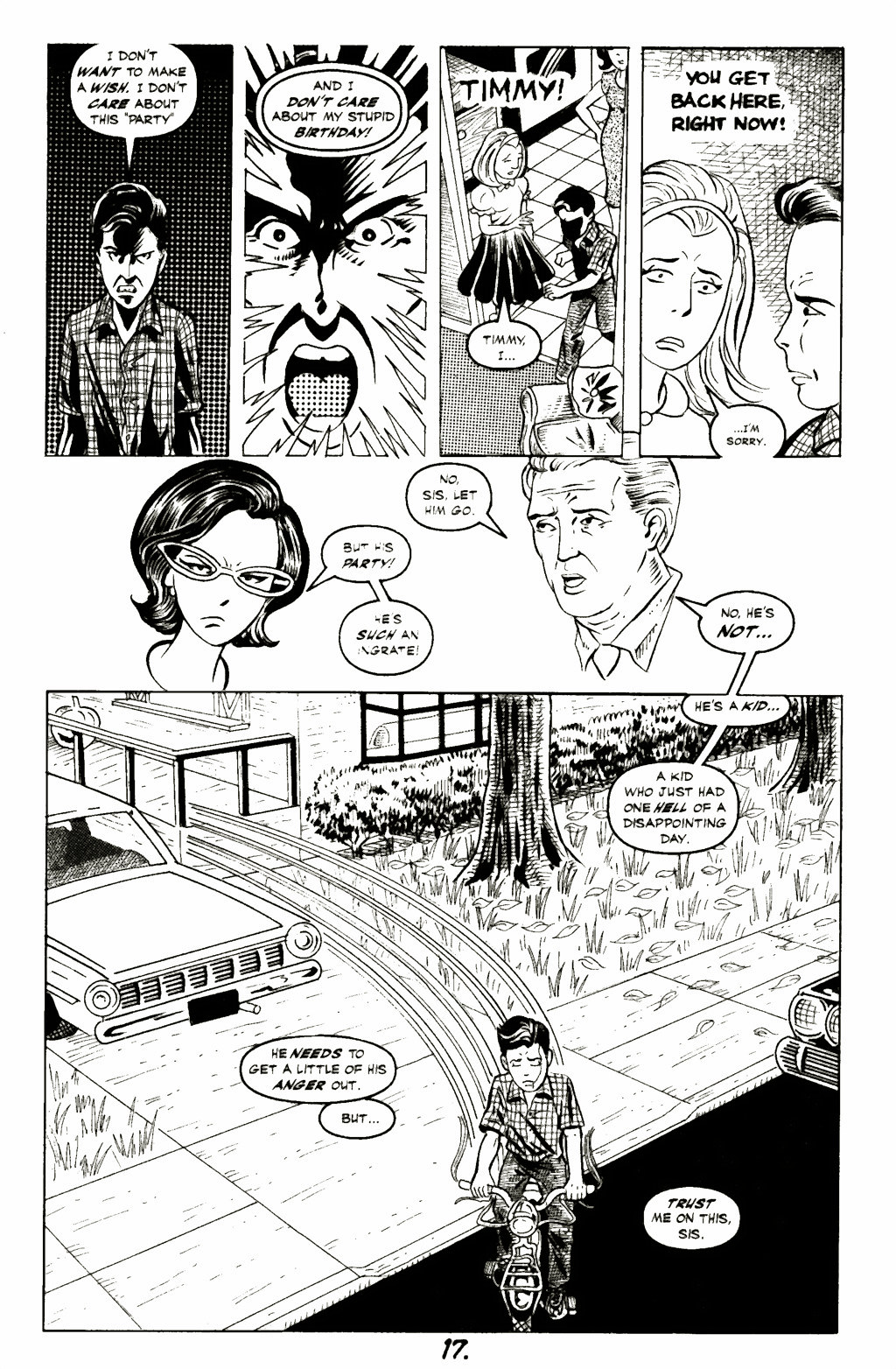 Read online A Touch of Silver comic -  Issue #1 - 19