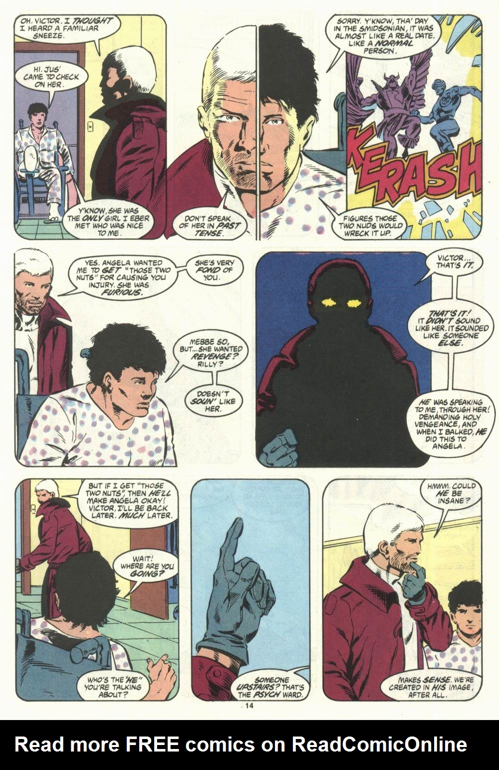 Read online Justice (1986) comic -  Issue #28 - 16