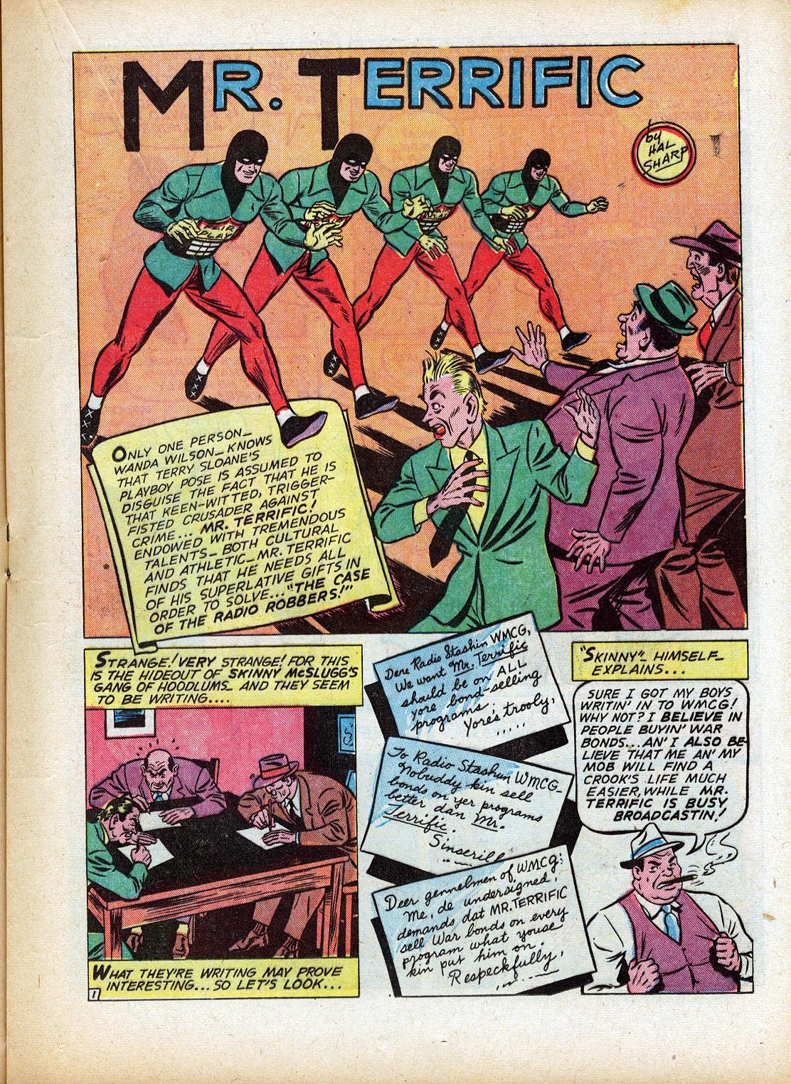 Read online Sensation (Mystery) Comics comic -  Issue #18 - 33