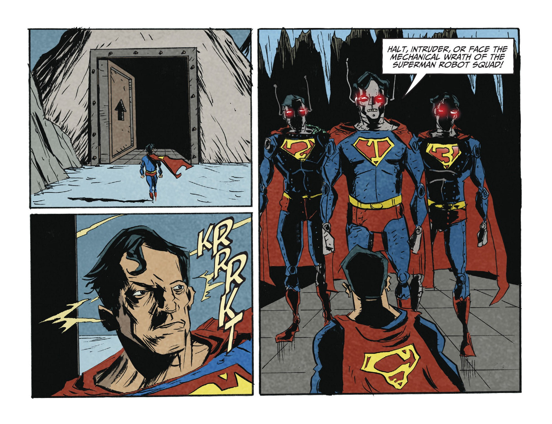 Read online Adventures of Superman [I] comic -  Issue #2 - 6