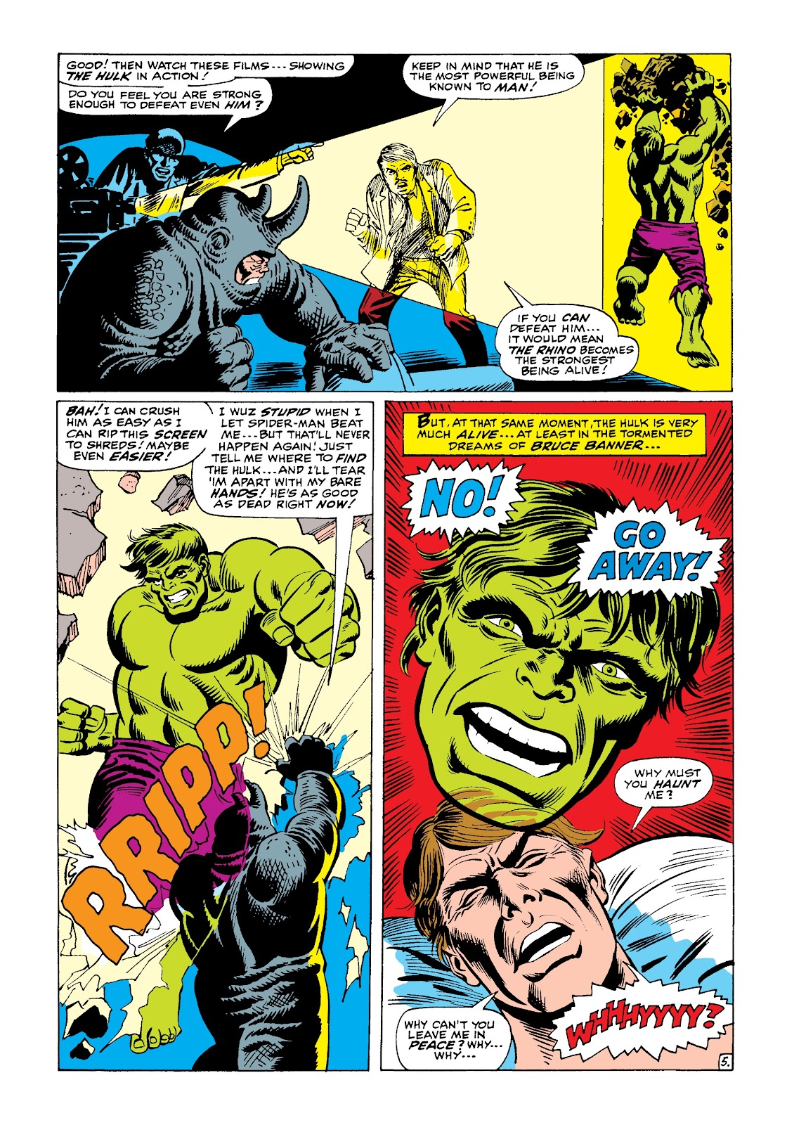 Read online Marvel Masterworks: The Incredible Hulk comic -  Issue # TPB 4 (Part 1) - 33