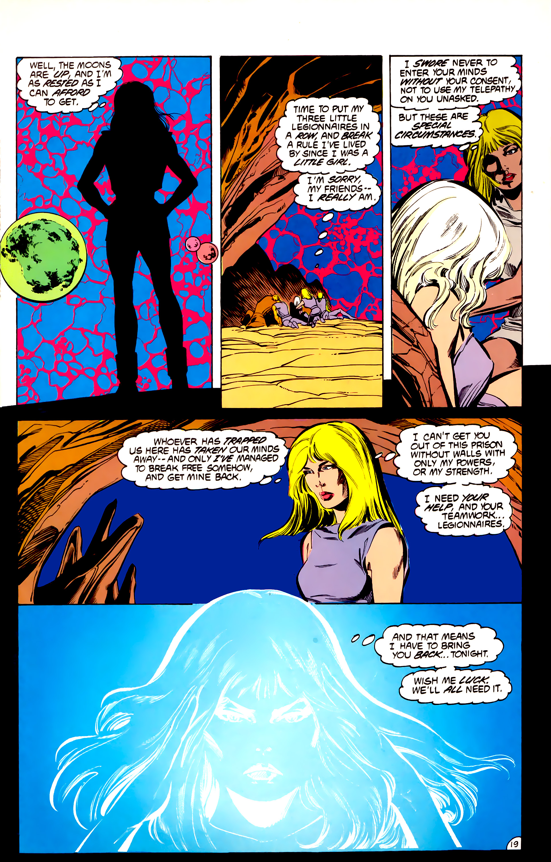 Legion of Super-Heroes (1984) 32 Page 18