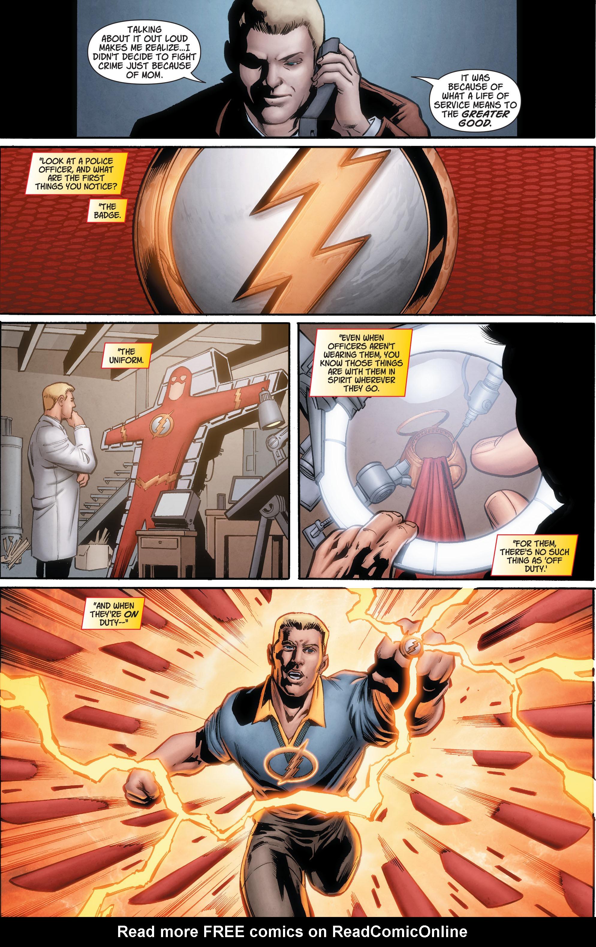 Read online Secret Origins (2014) comic -  Issue #7 - 8