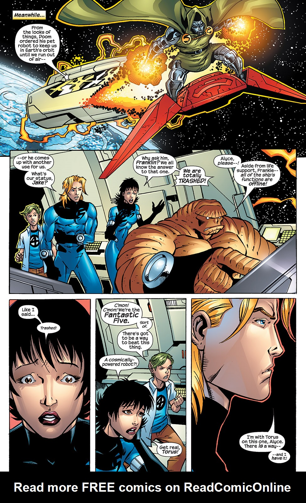 Read online Fantastic Five (2007) comic -  Issue #4 - 6