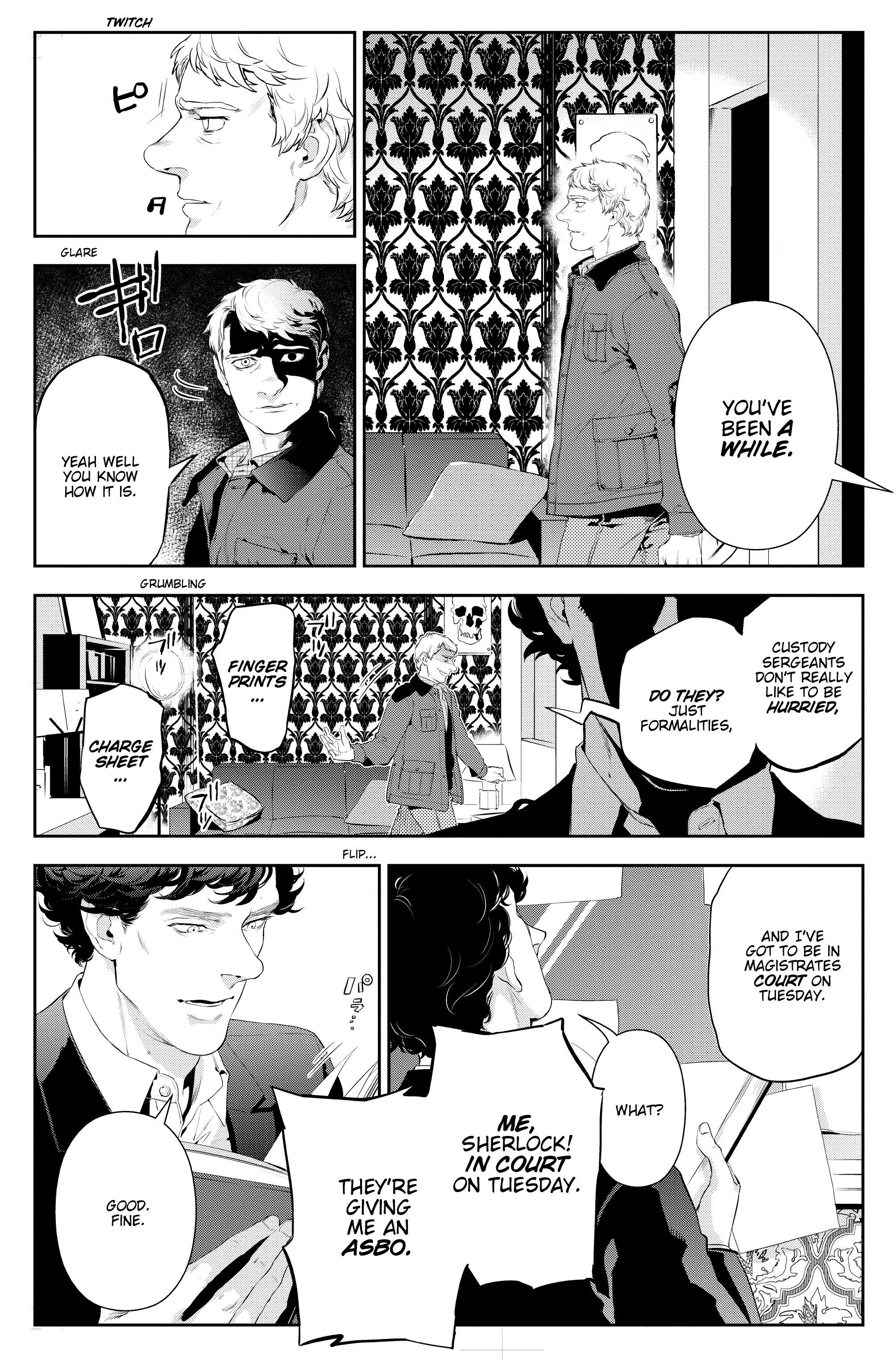 Read online Sherlock: The Blind Banker comic -  Issue #3 - 15