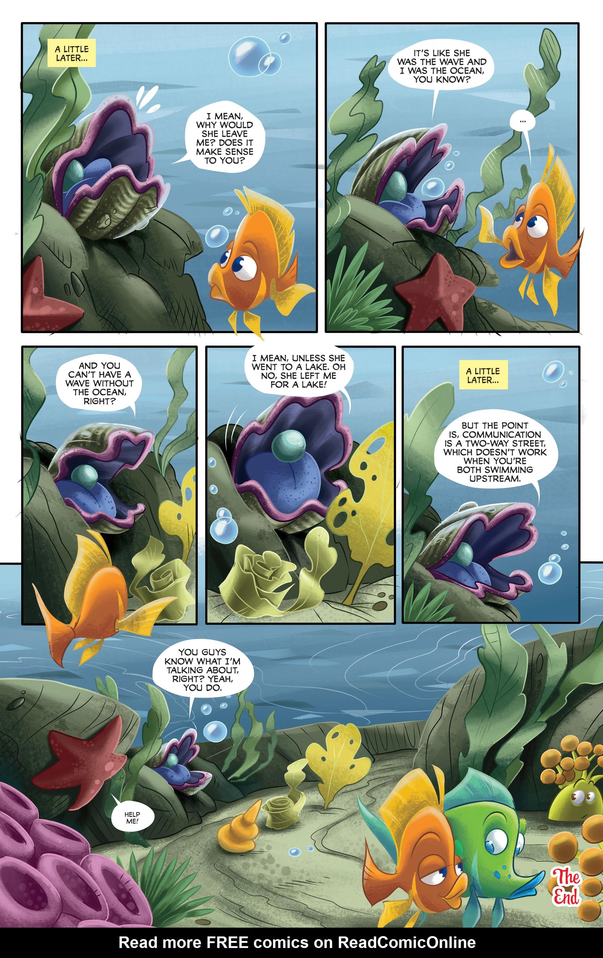 Read online Disney Pixar Finding Dory comic -  Issue #3 - 5