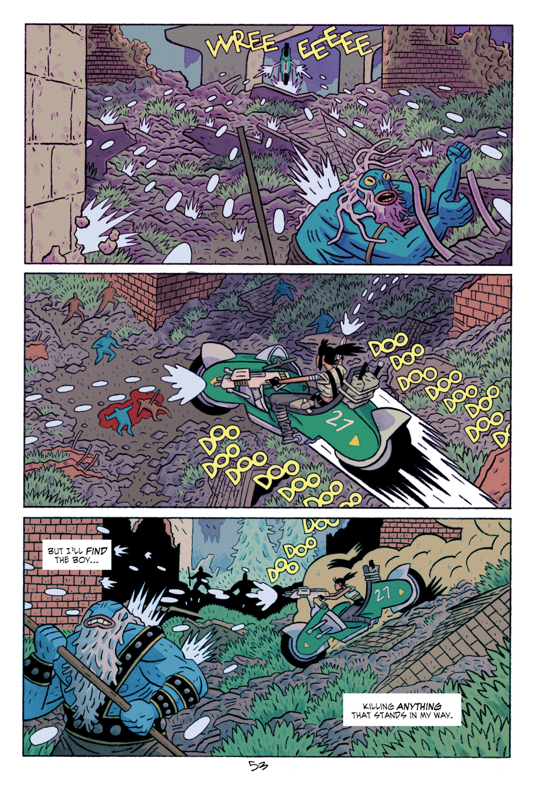 Read online ApocalyptiGirl: An Aria for the End Times comic -  Issue #ApocalyptiGirl: An Aria for the End Times Full - 61