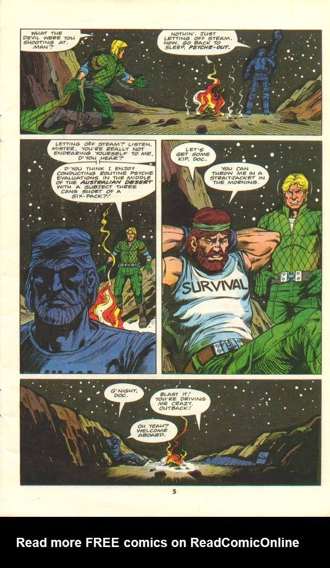 G.I. Joe European Missions issue 11 - Page 4