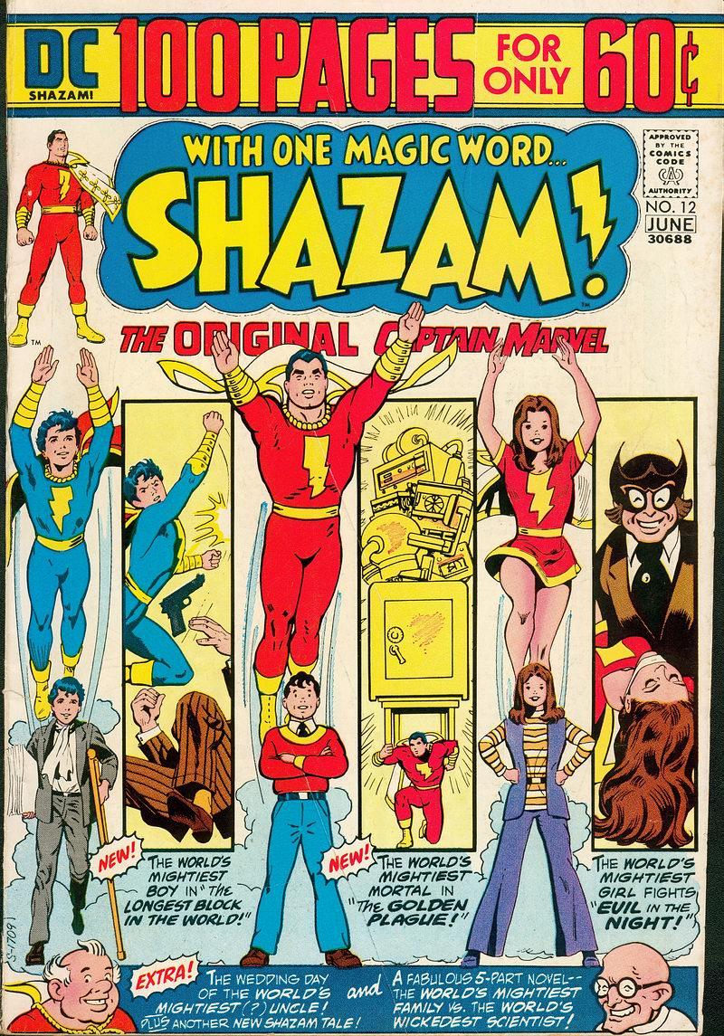 Read online Shazam! (1973) comic -  Issue #12 - 1