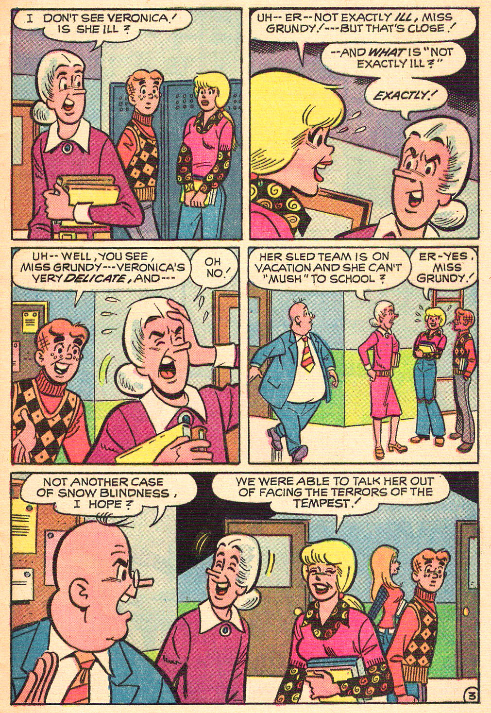 Read online Archie's Girls Betty and Veronica comic -  Issue #208 - 5