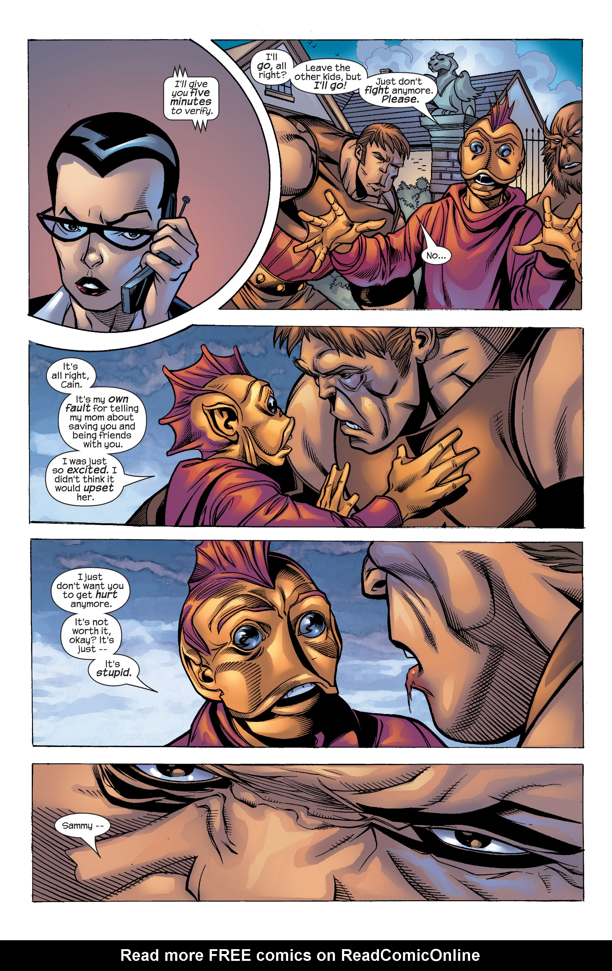 Read online Uncanny X-Men (1963) comic -  Issue #422 - 34