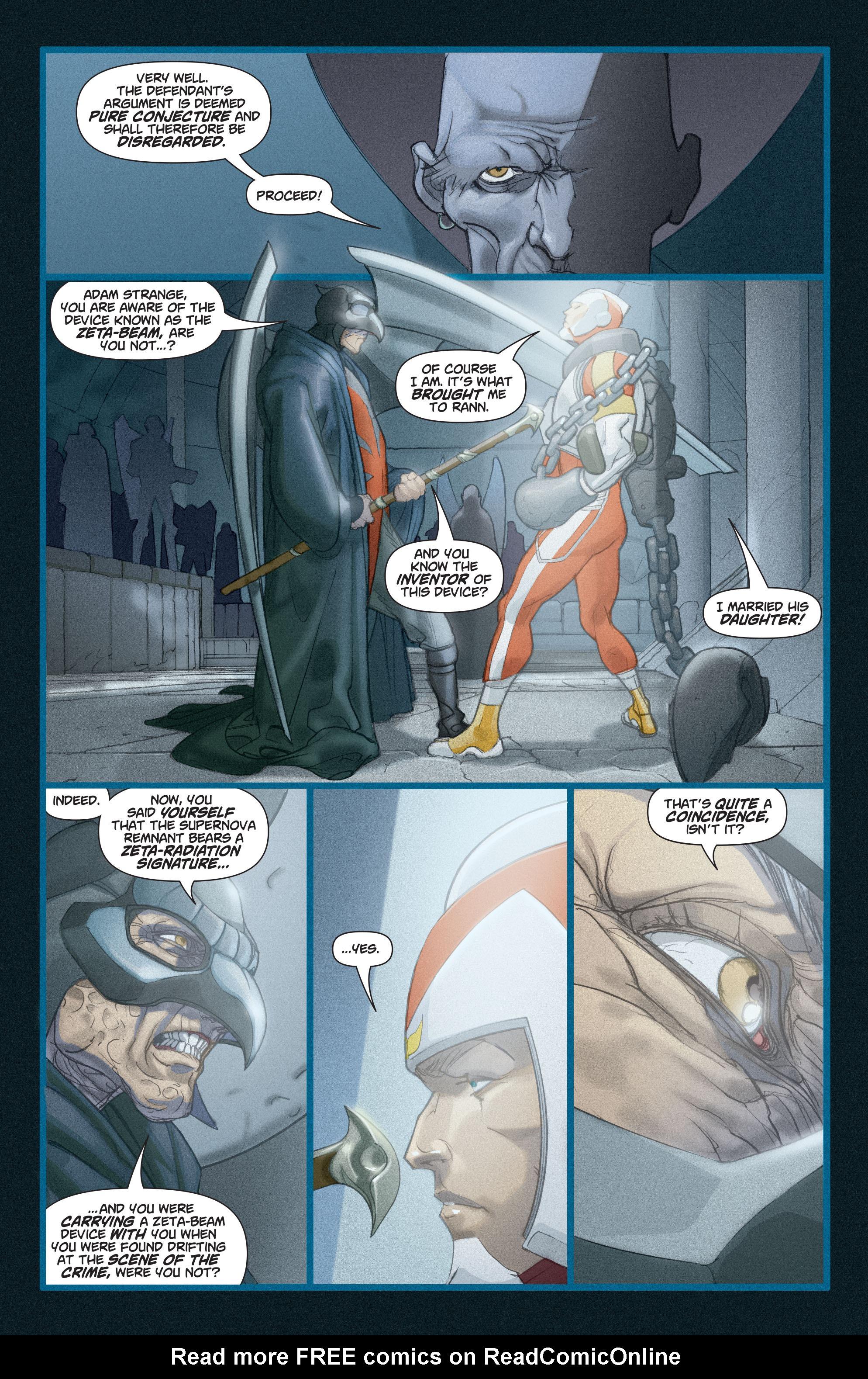 Read online Adam Strange (2004) comic -  Issue #3 - 19