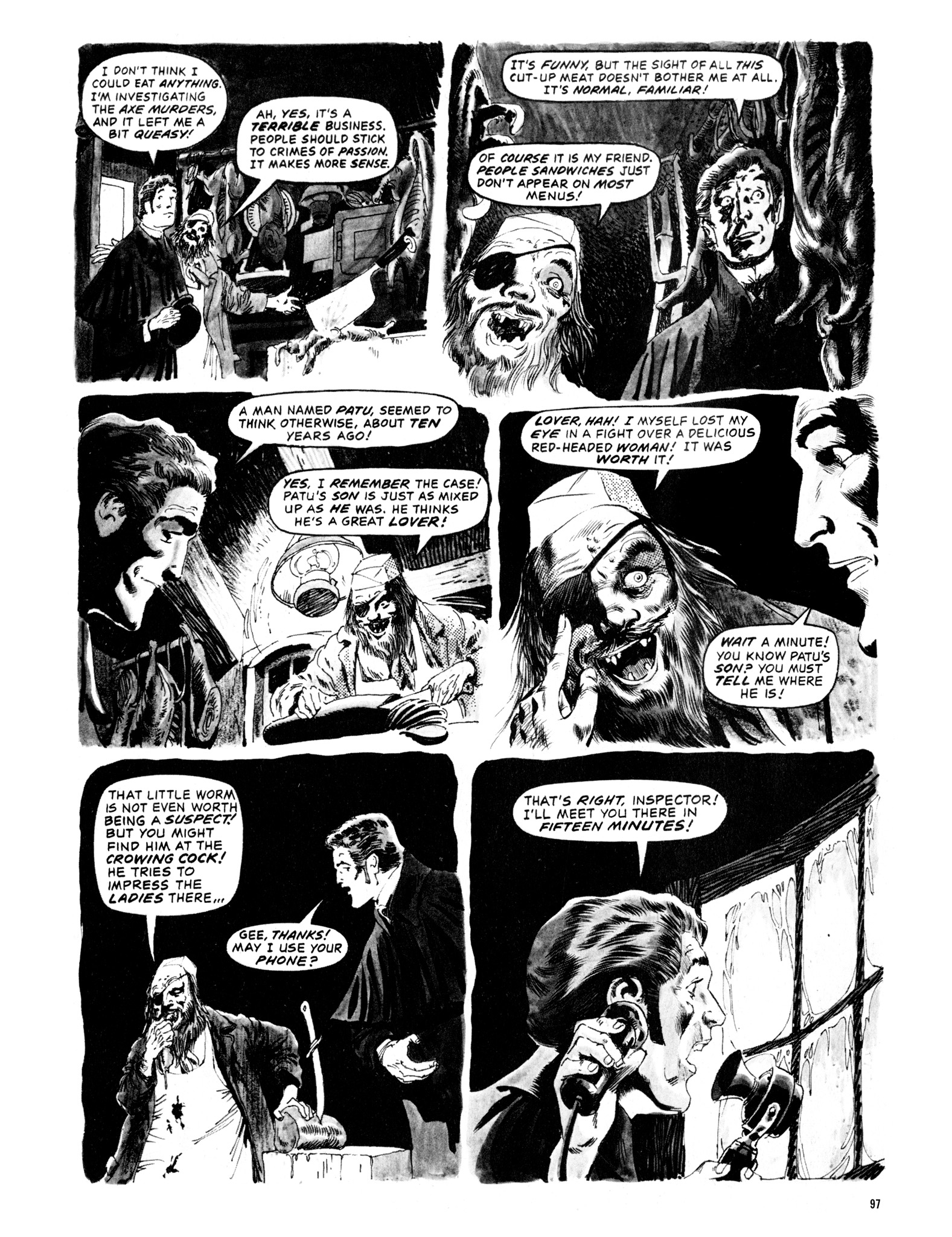 Read online Eerie Archives comic -  Issue # TPB 12 - 98