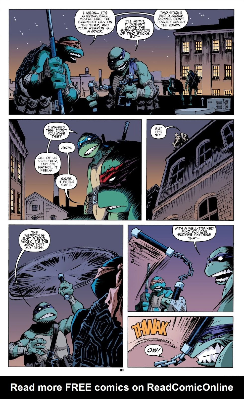 Read online Teenage Mutant Ninja Turtles: The IDW Collection comic -  Issue # TPB 8 (Part 2) - 18