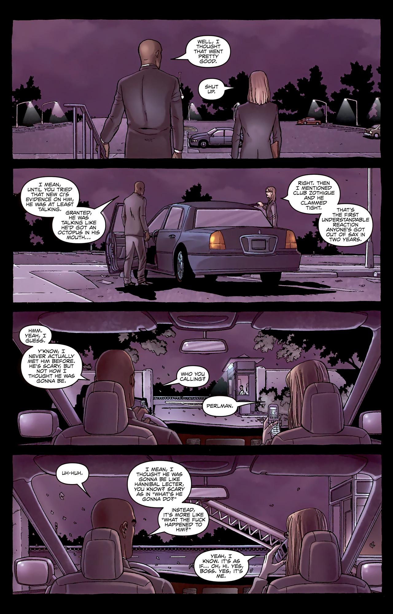 Read online Alan Moore's Neonomicon comic -  Issue #1 - 18