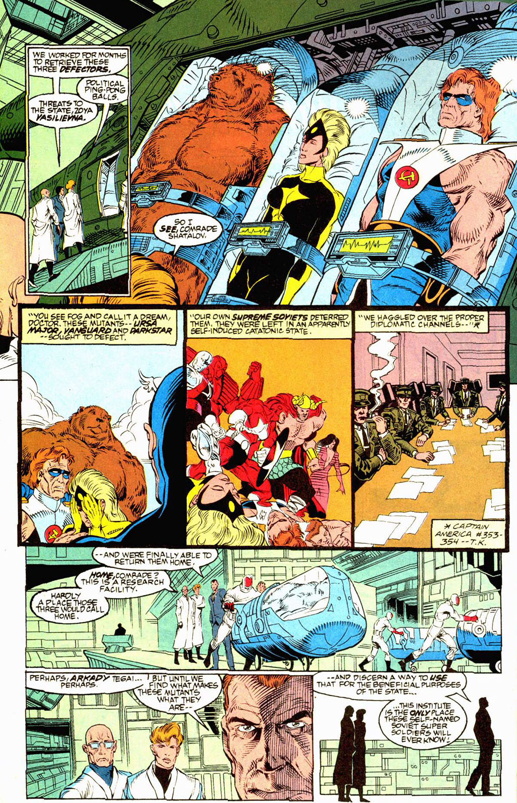 Read online Soviet Super Soldiers comic -  Issue # Full - 6