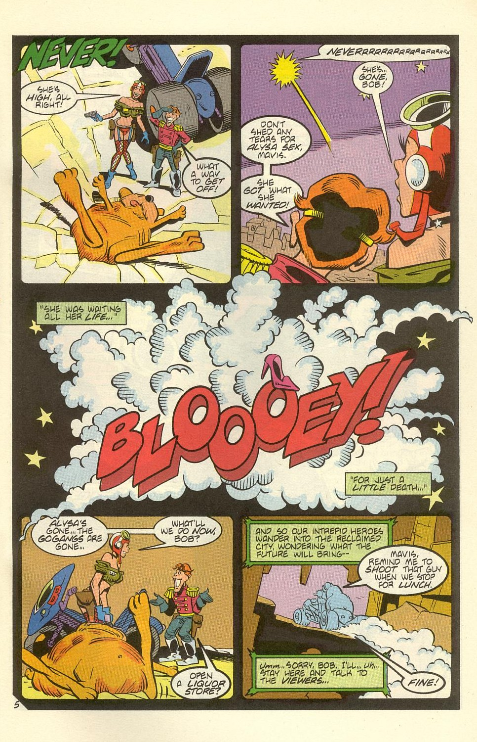 Read online American Flagg! comic -  Issue #39 - 31