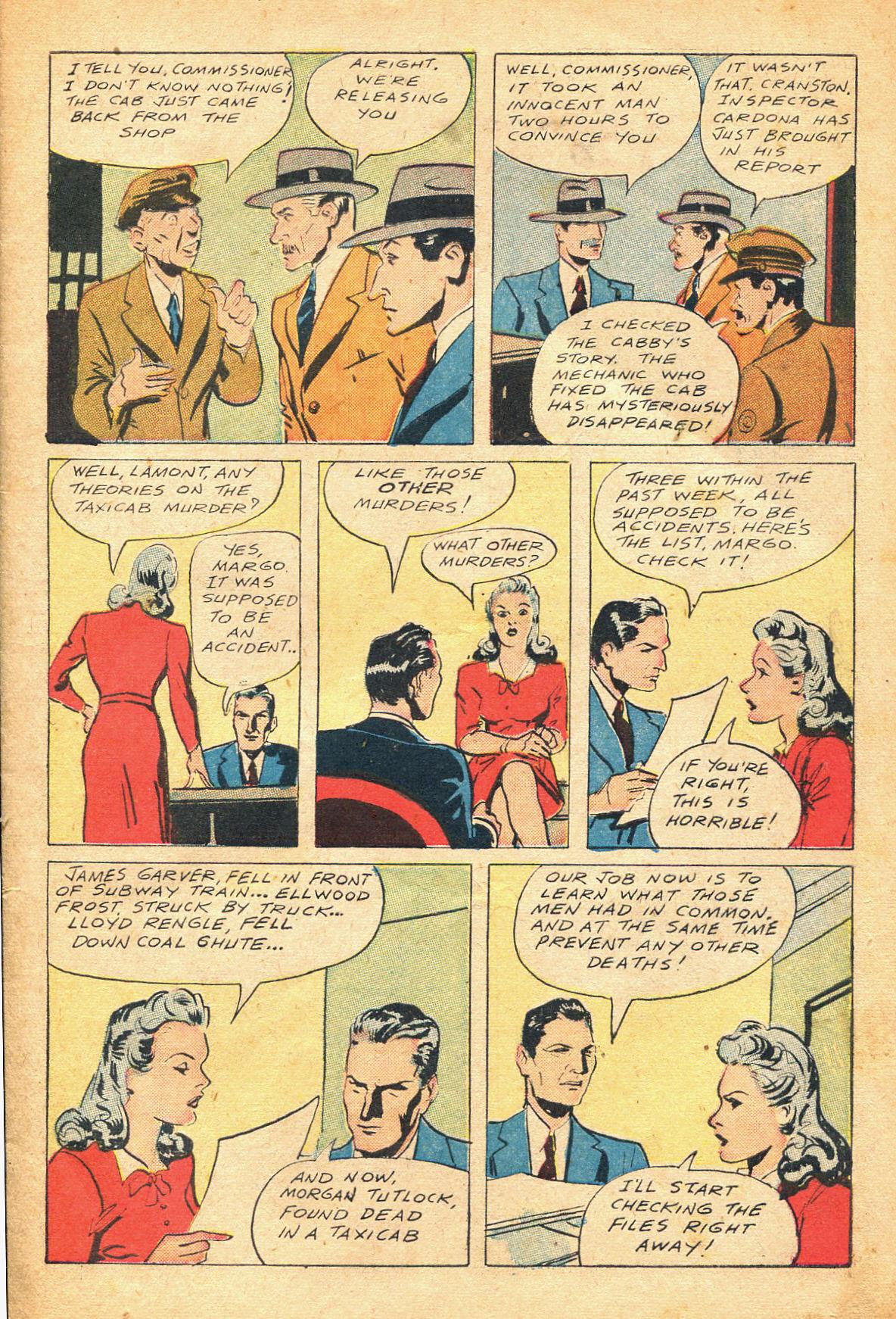 Read online Shadow Comics comic -  Issue #51 - 6