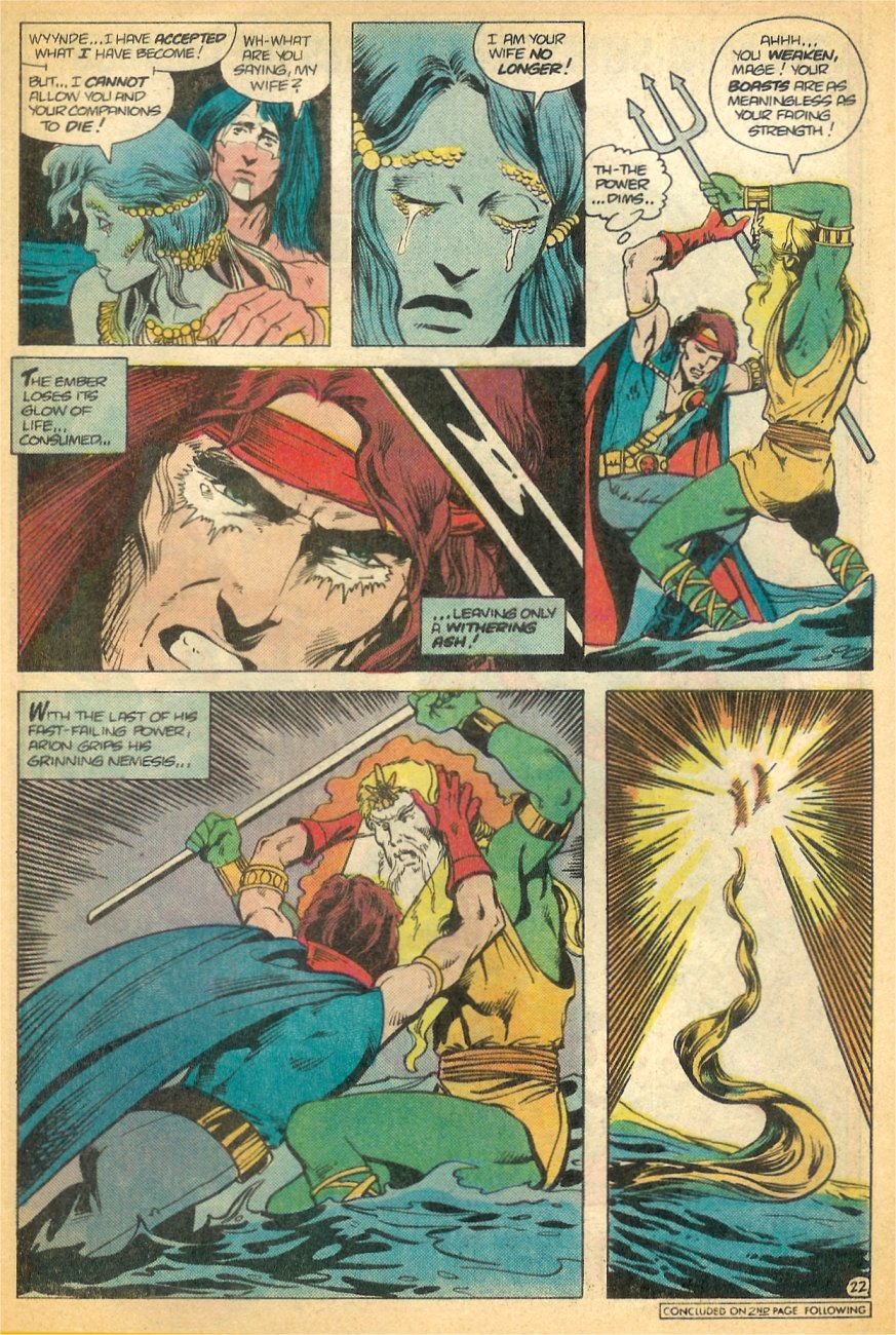 Read online Arion, Lord of Atlantis comic -  Issue #21 - 23