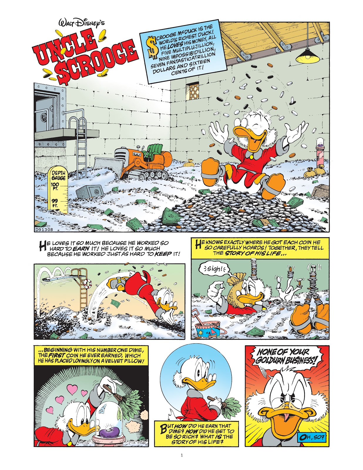 Read online The Complete Life and Times of Scrooge McDuck comic -  Issue # TPB 1 (Part 1) - 9