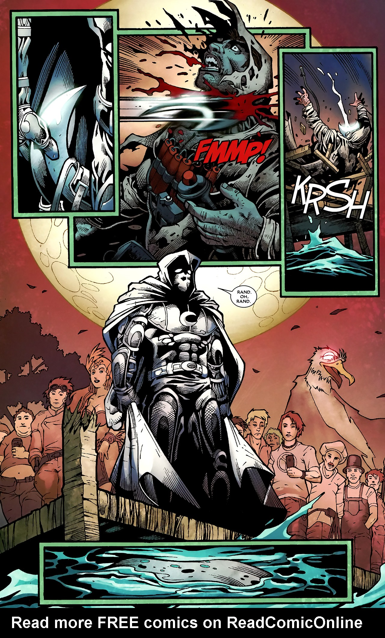 Read online Shadowland: Moon Knight comic -  Issue #3 - 21