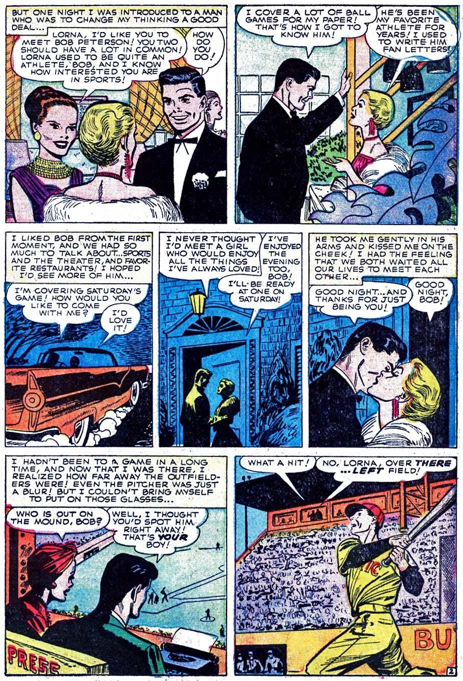 Love Romances (1949) issue 52 - Page 11