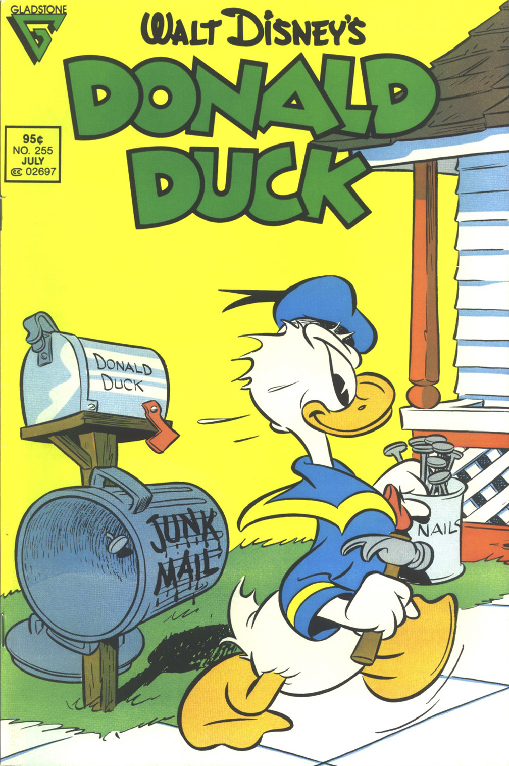Walt Disney's Donald Duck (1952) issue 255 - Page 1