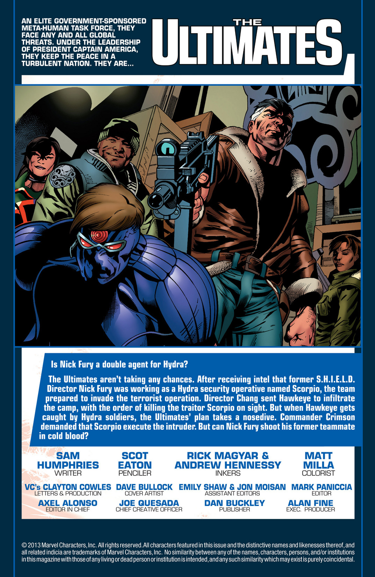 Read online Ultimate Comics Ultimates comic -  Issue #21 - 2