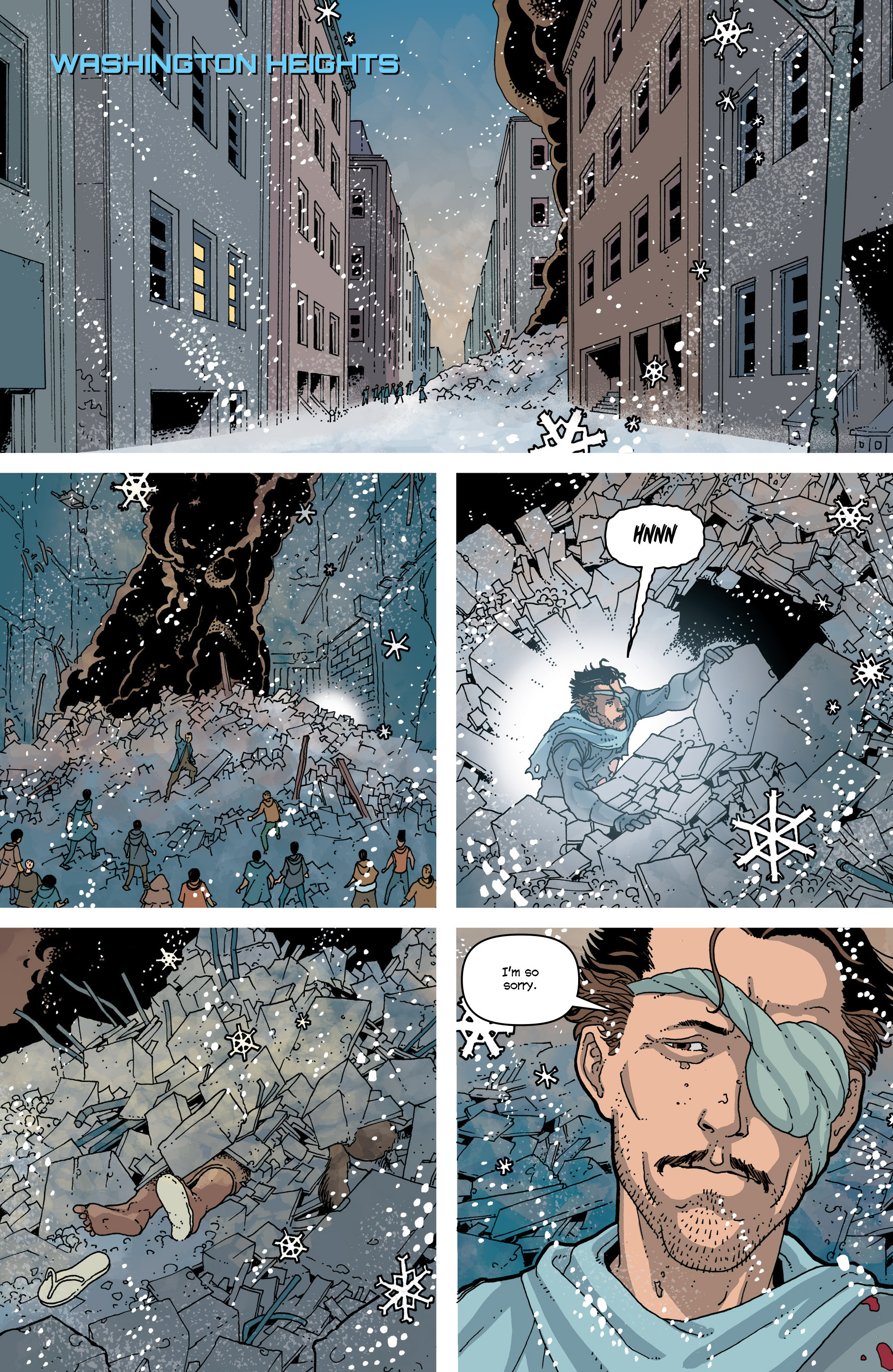 Read online Snowfall comic -  Issue #7 - 23