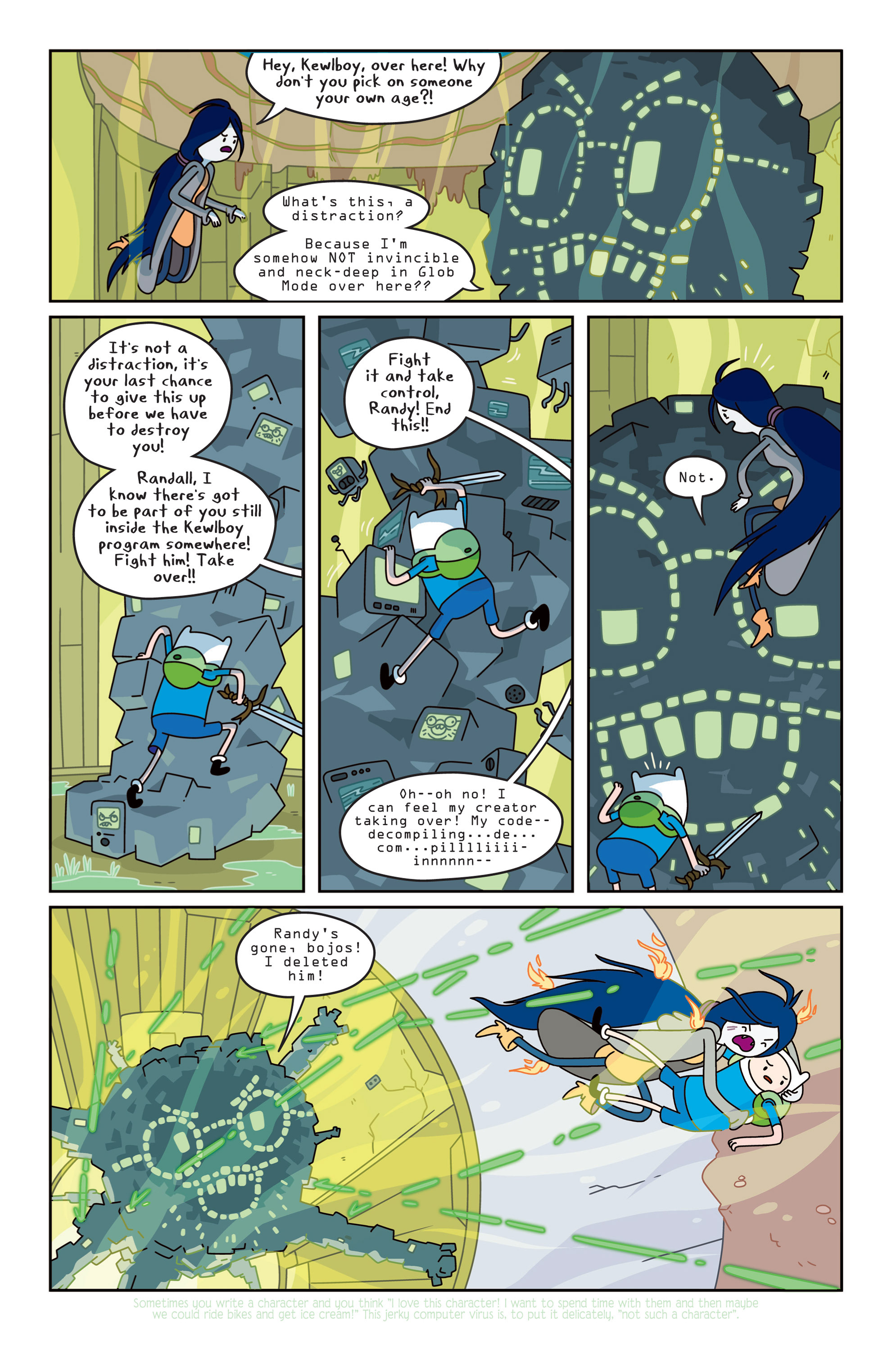 Read online Adventure Time comic -  Issue #14 - 10