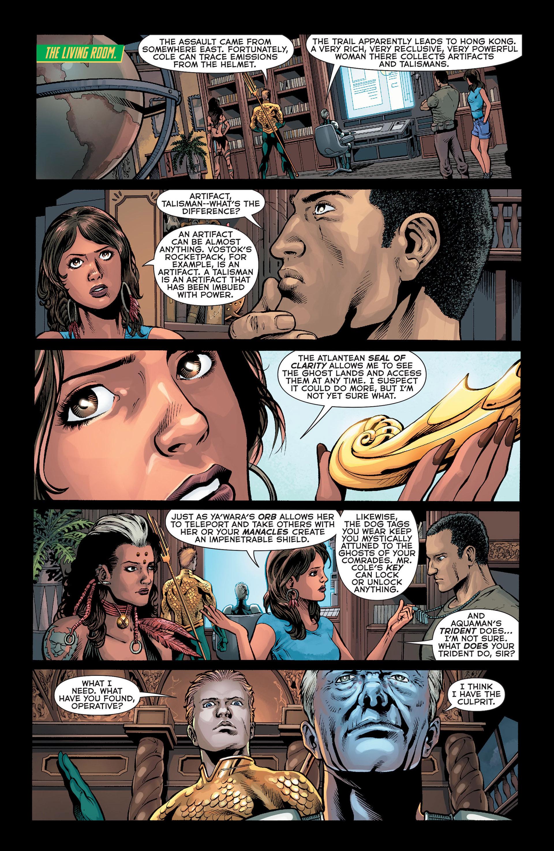 Read online Aquaman (2011) comic -  Issue #Aquaman (2011) _Annual 1 - 17