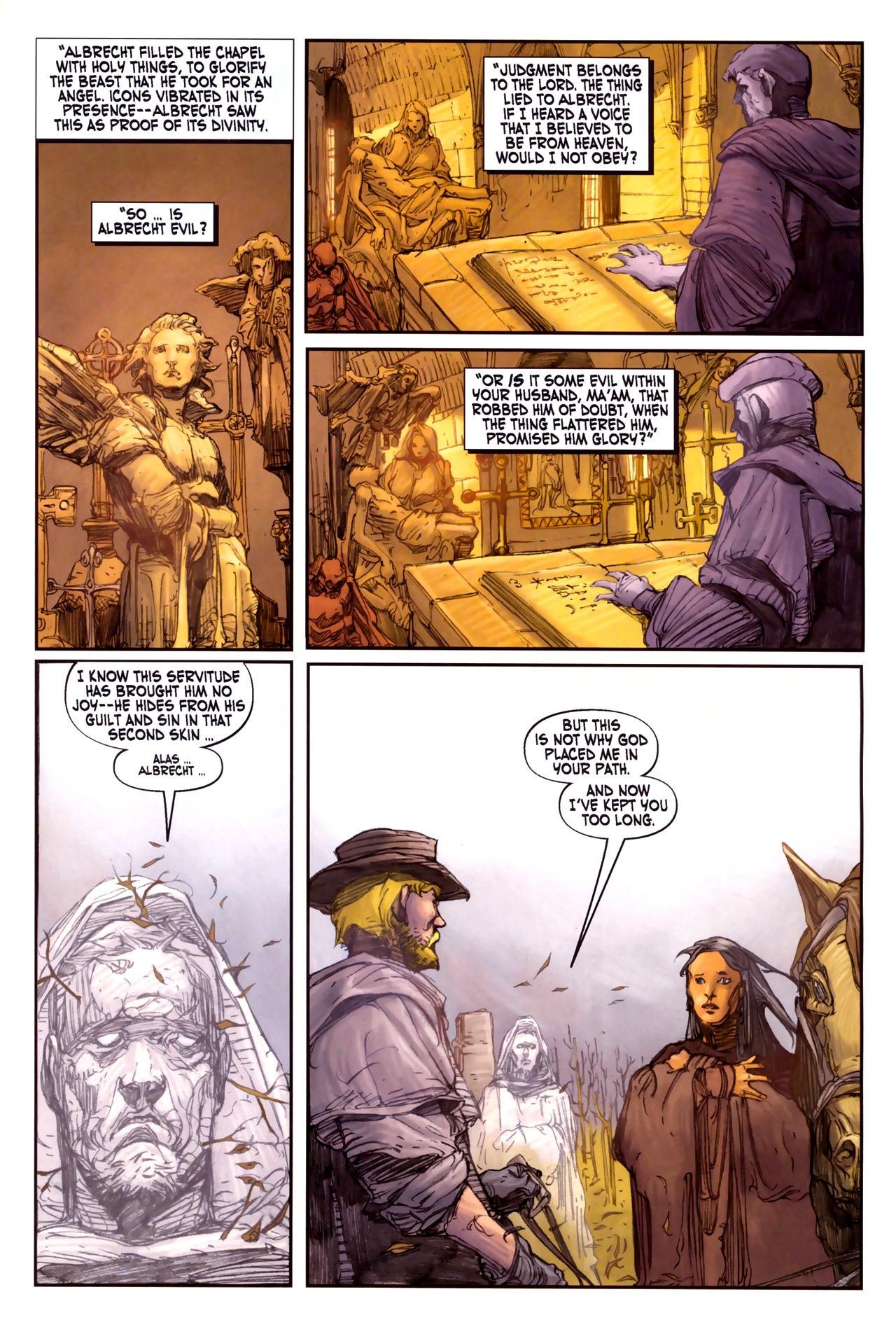 Read online Solomon Kane comic -  Issue #3 - 19