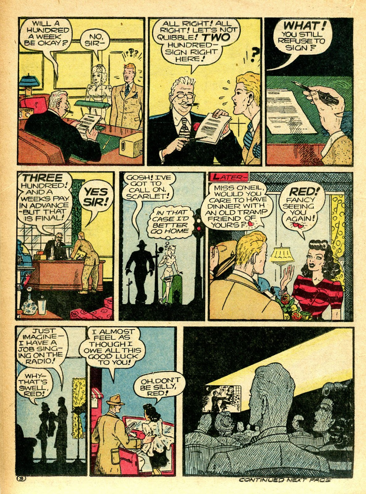 Read online Famous Funnies comic -  Issue #94 - 32